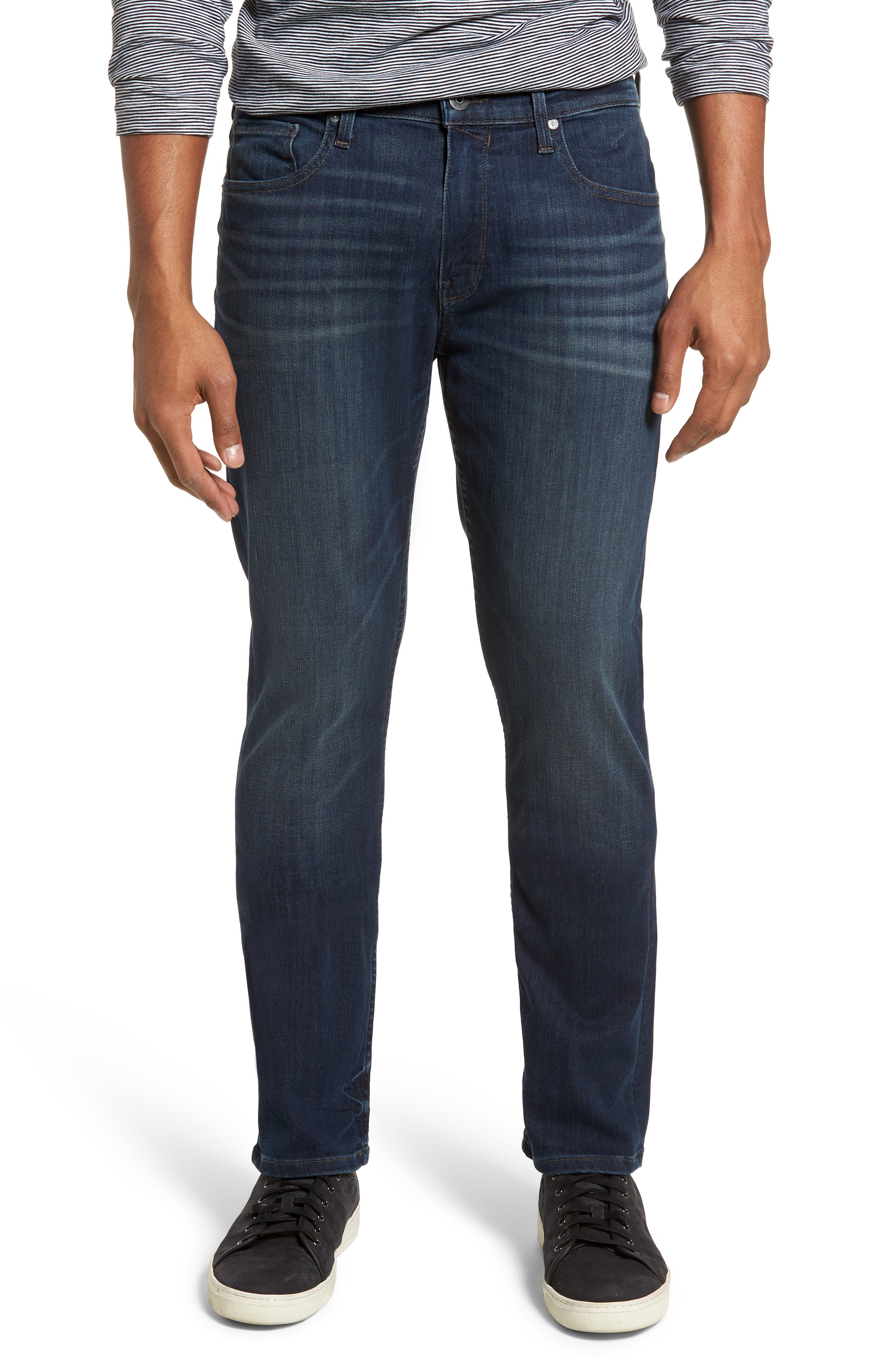 Transcend - Federal Slim Straight Leg Jeans,                         Main,                         color, FREEMAN