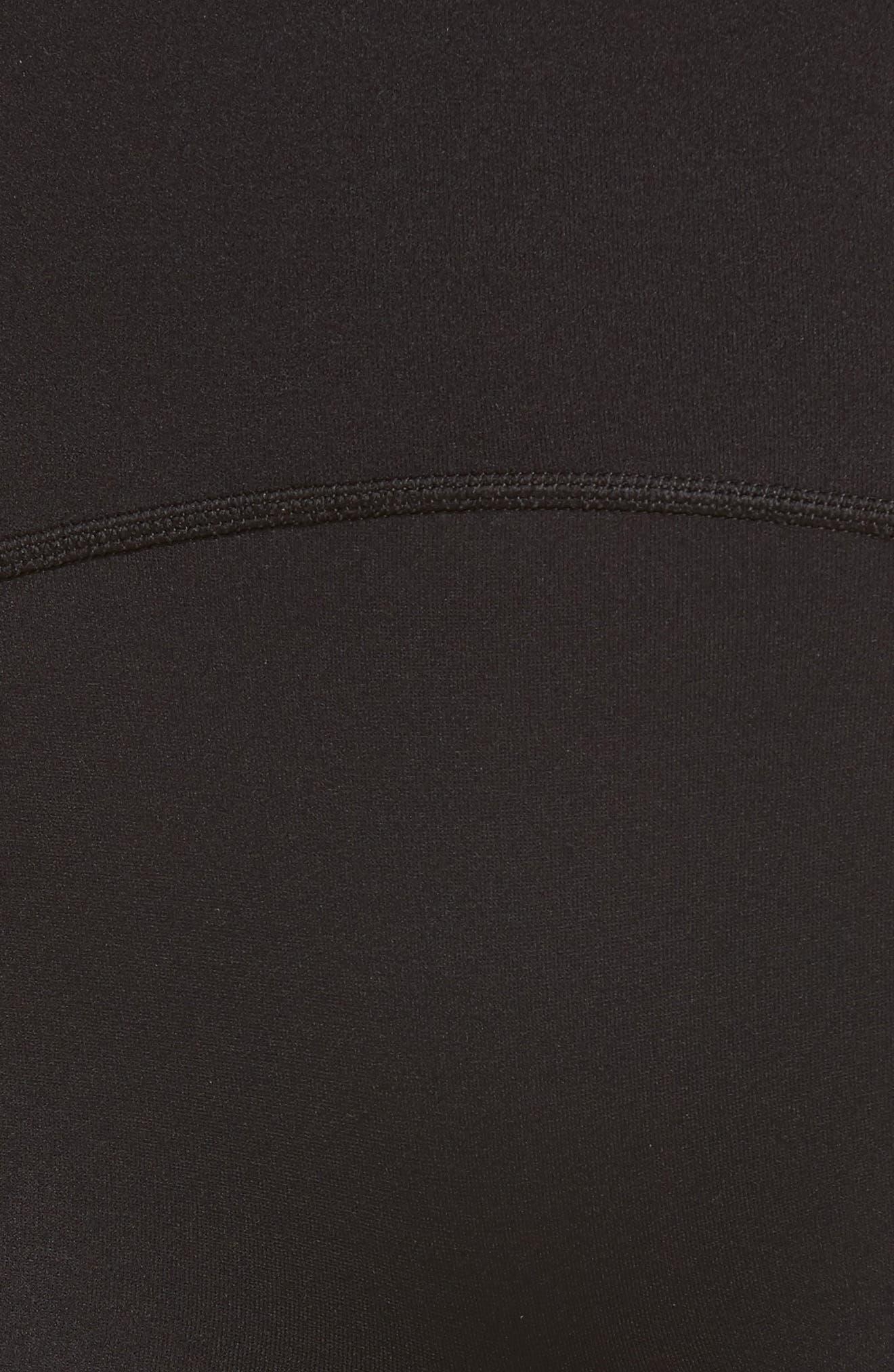 Sport Compression Shorts,                             Alternate thumbnail 5, color,                             BLACK