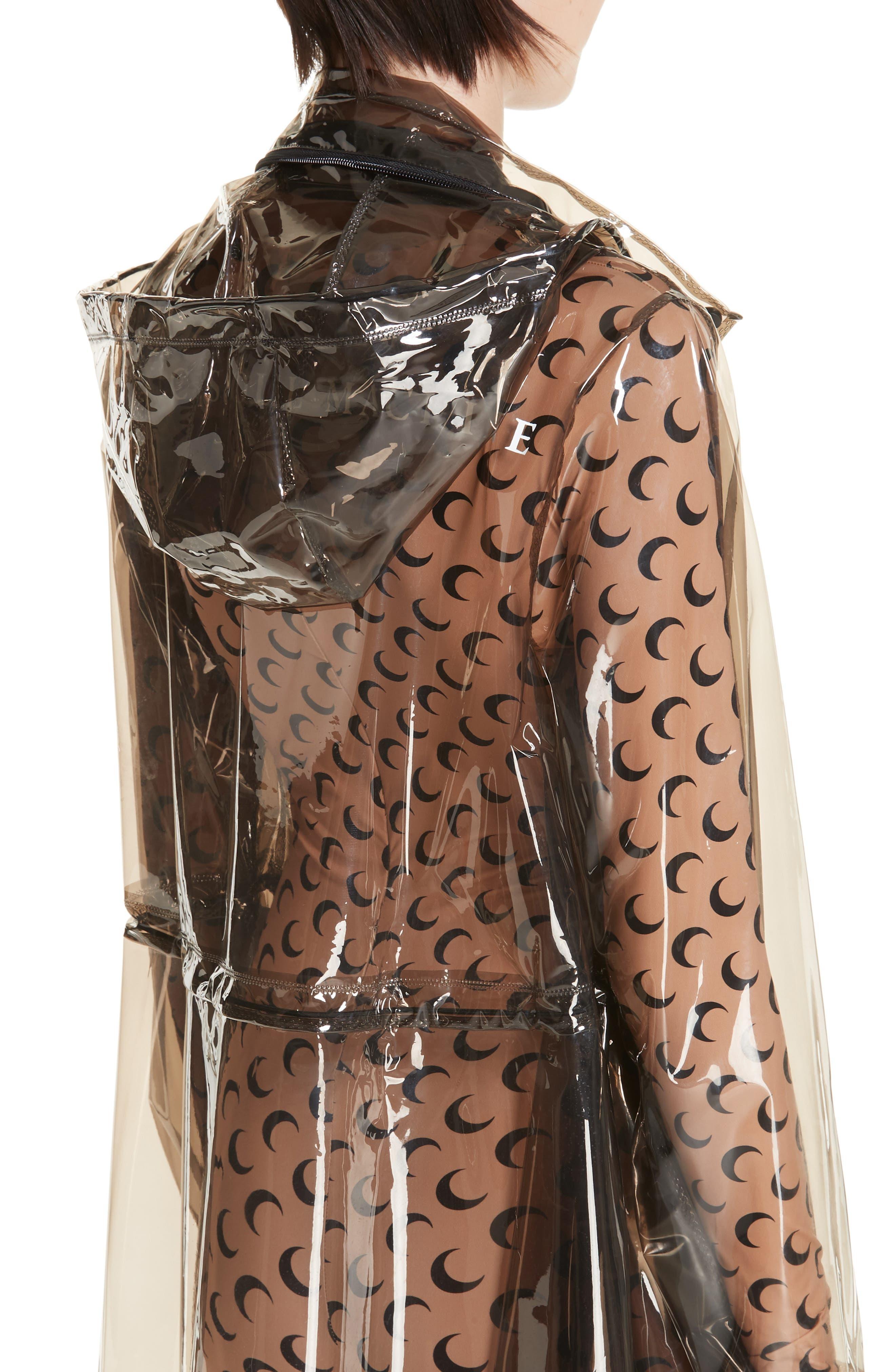 Transparent Raincoat,                             Alternate thumbnail 5, color,                             020