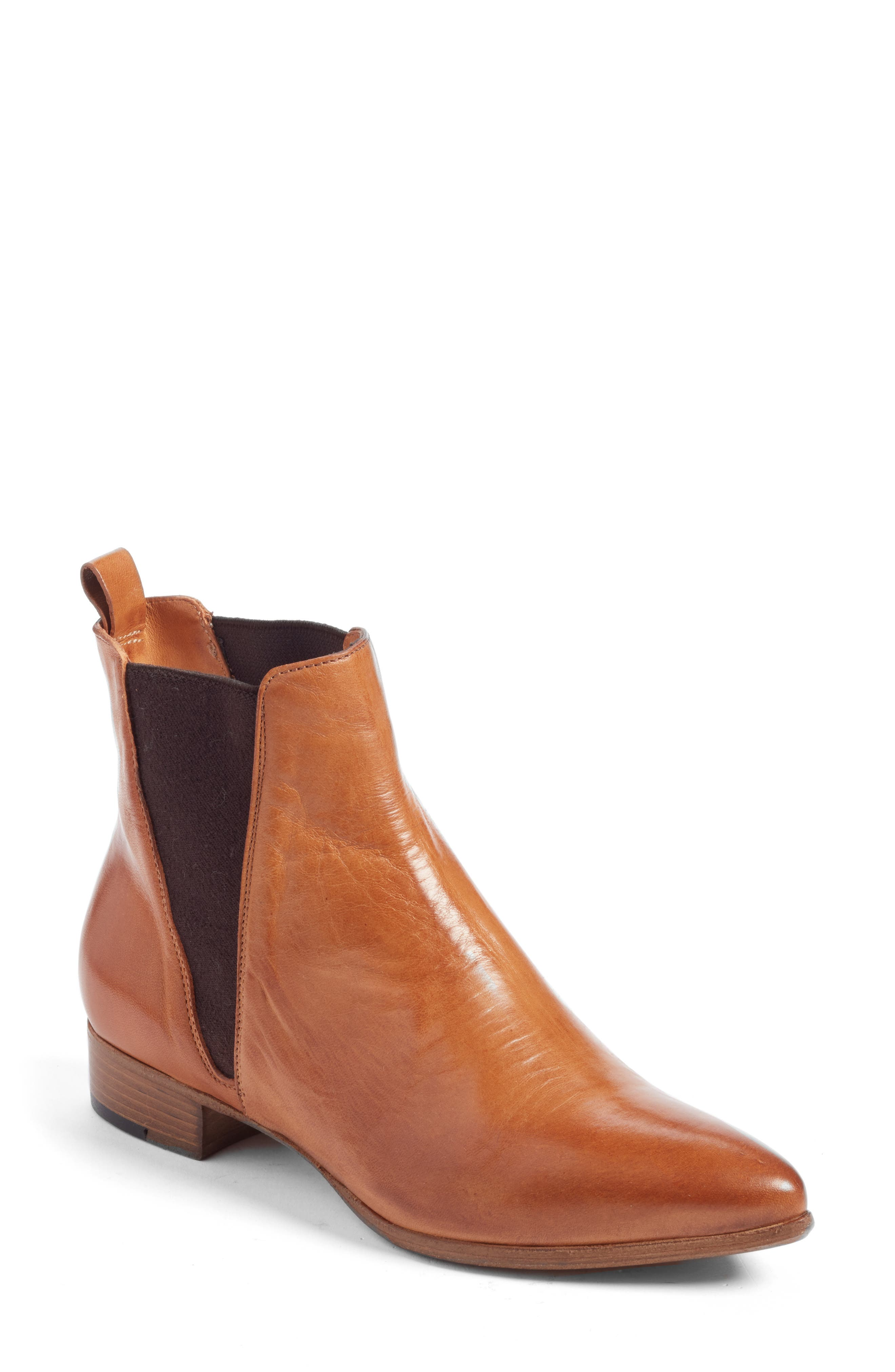 Brenna Chelsea Bootie,                             Main thumbnail 1, color,                             200