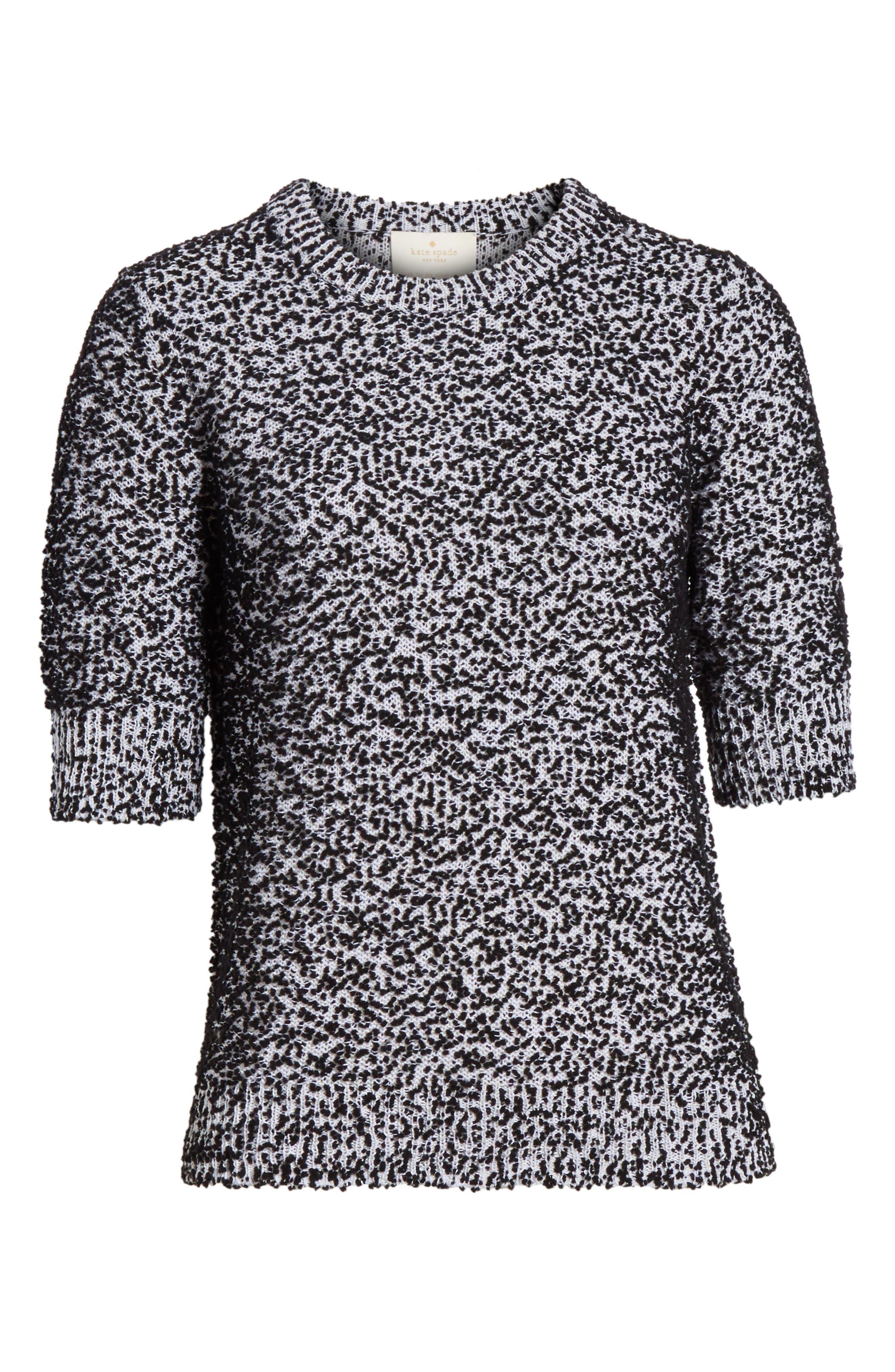 pom sweater,                             Alternate thumbnail 6, color,                             001