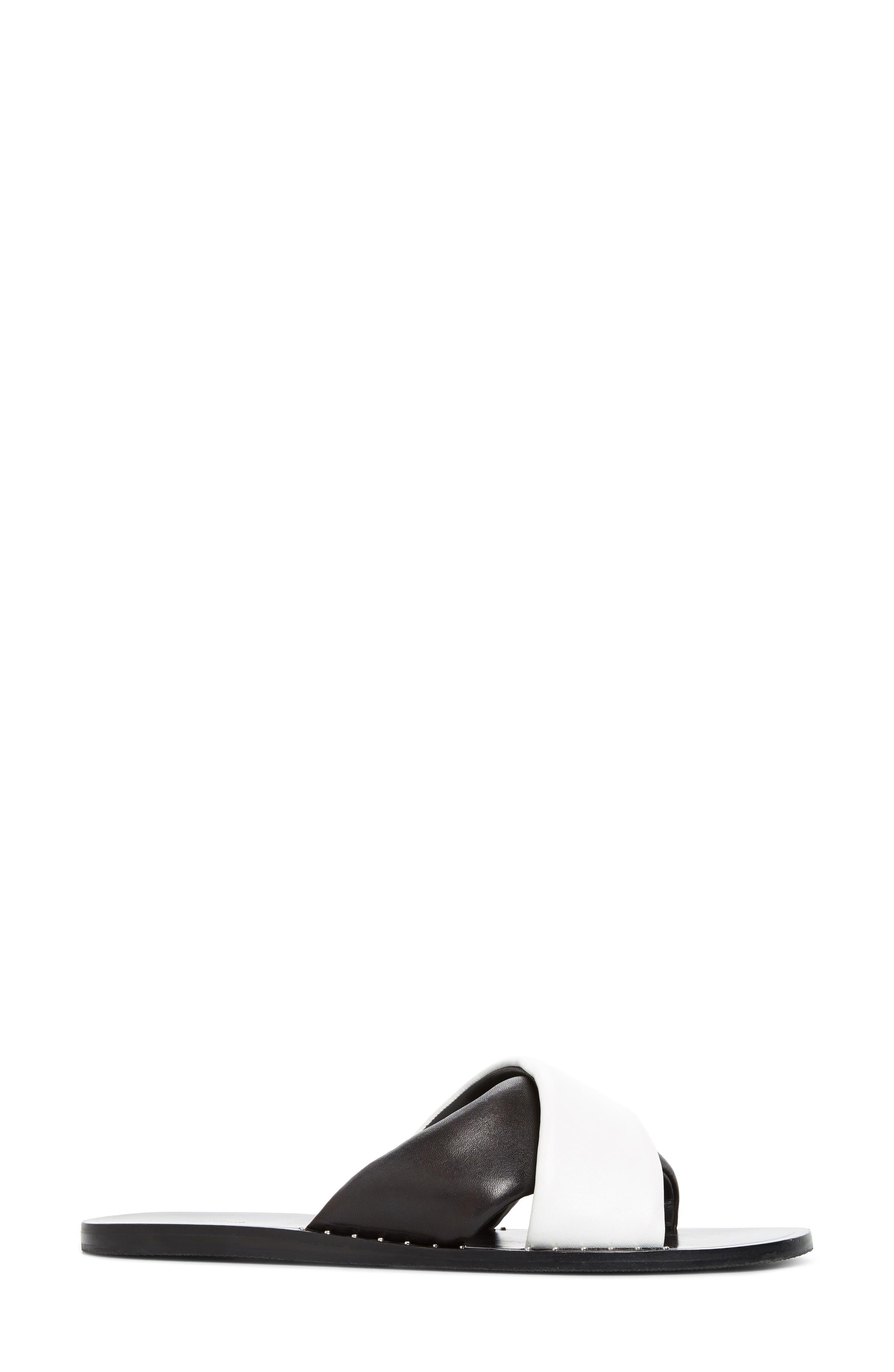 Keaton Slide Sandal,                             Alternate thumbnail 3, color,                             002