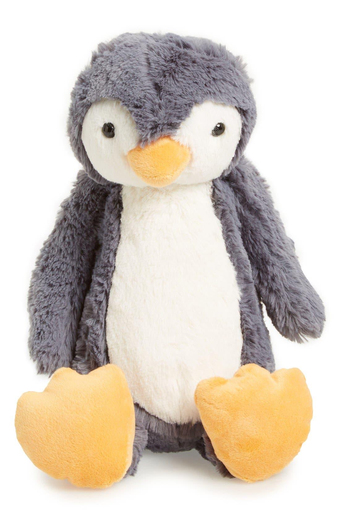 Medium Bashful Penguin Stuffed Animal,                         Main,                         color, 022