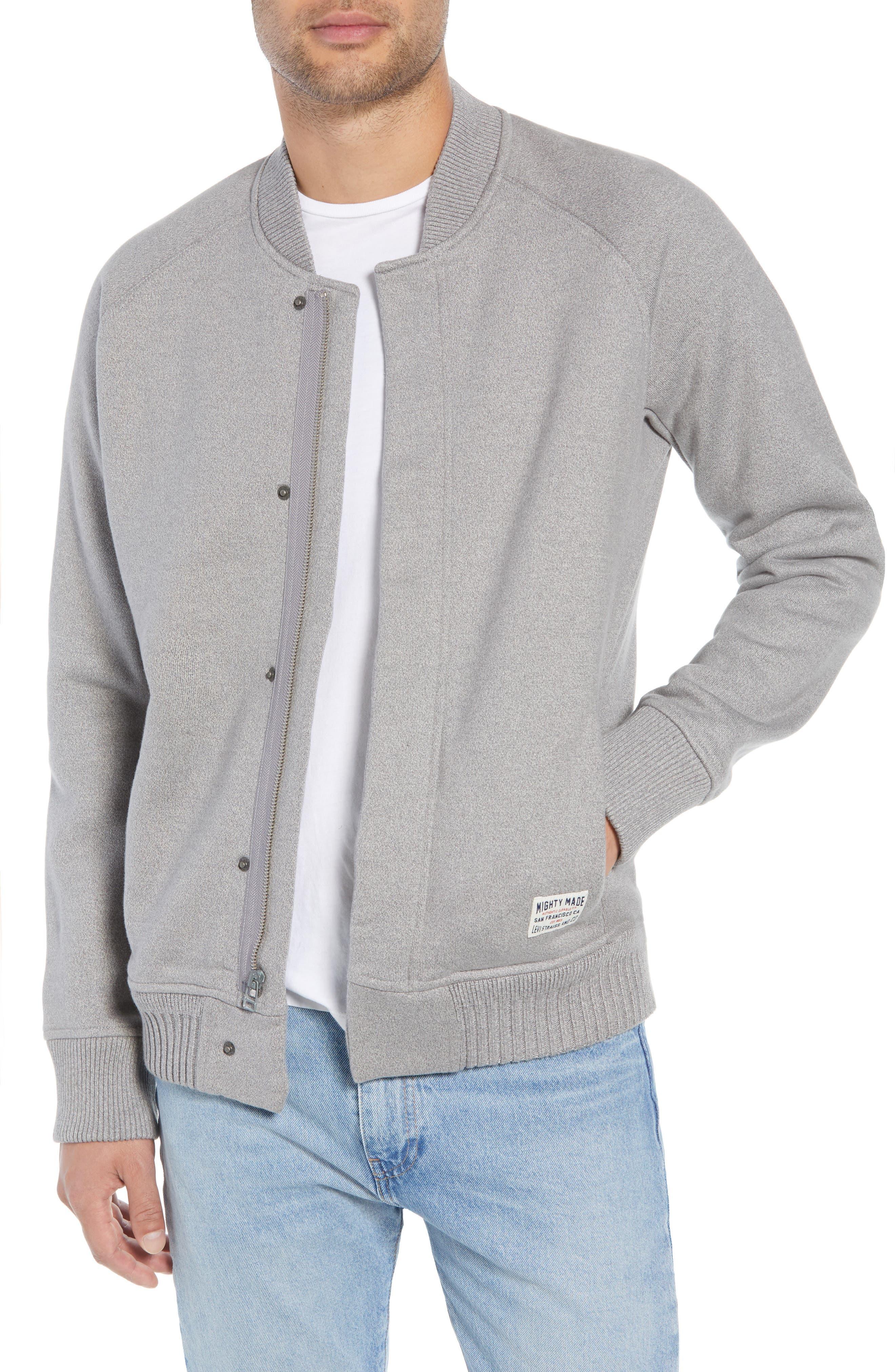 Levi's Knit Bomber Jacket,                             Main thumbnail 1, color,                             020
