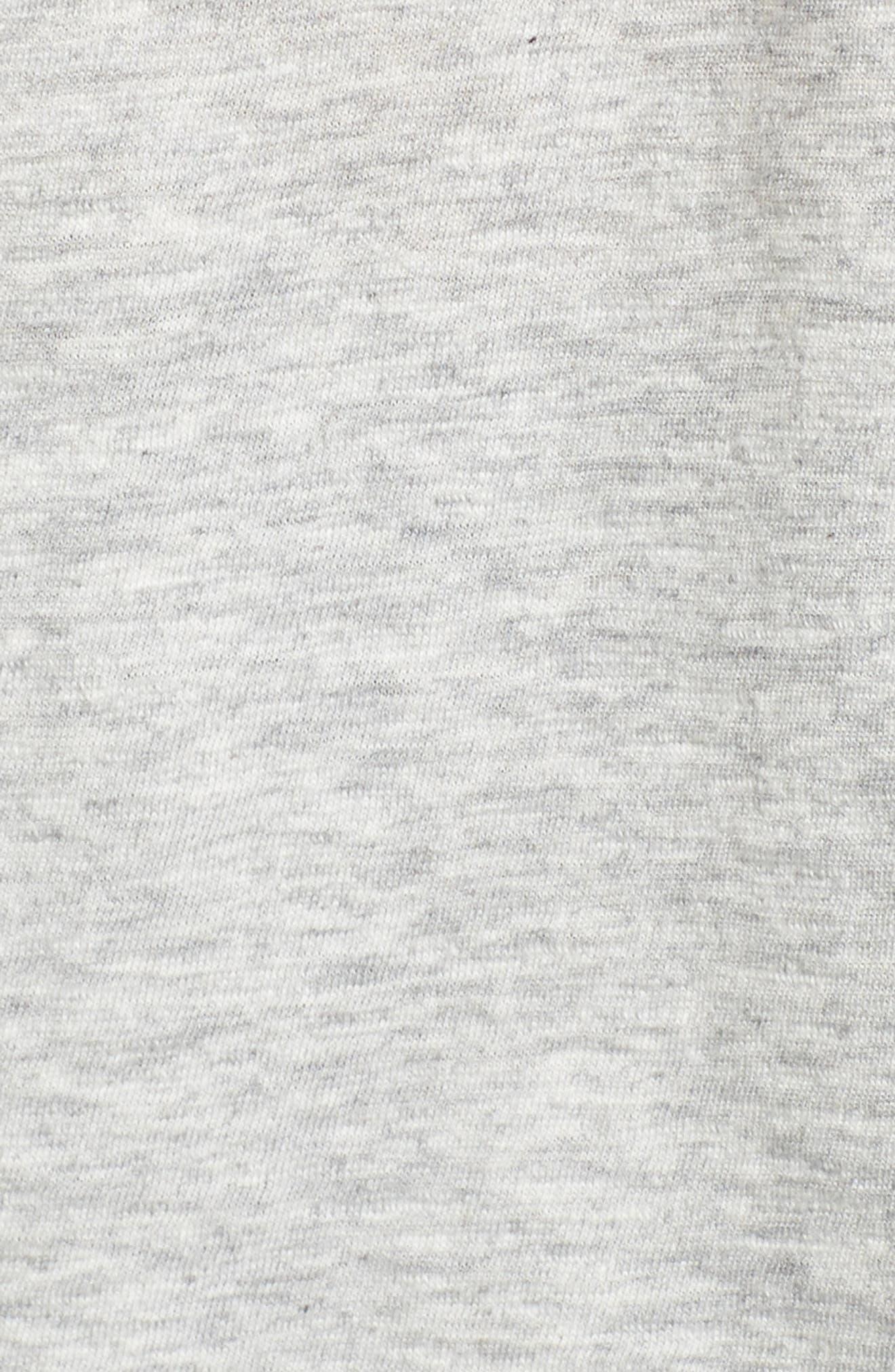 Long Sleeve Slub Whale Hoodie,                             Alternate thumbnail 5, color,                             063
