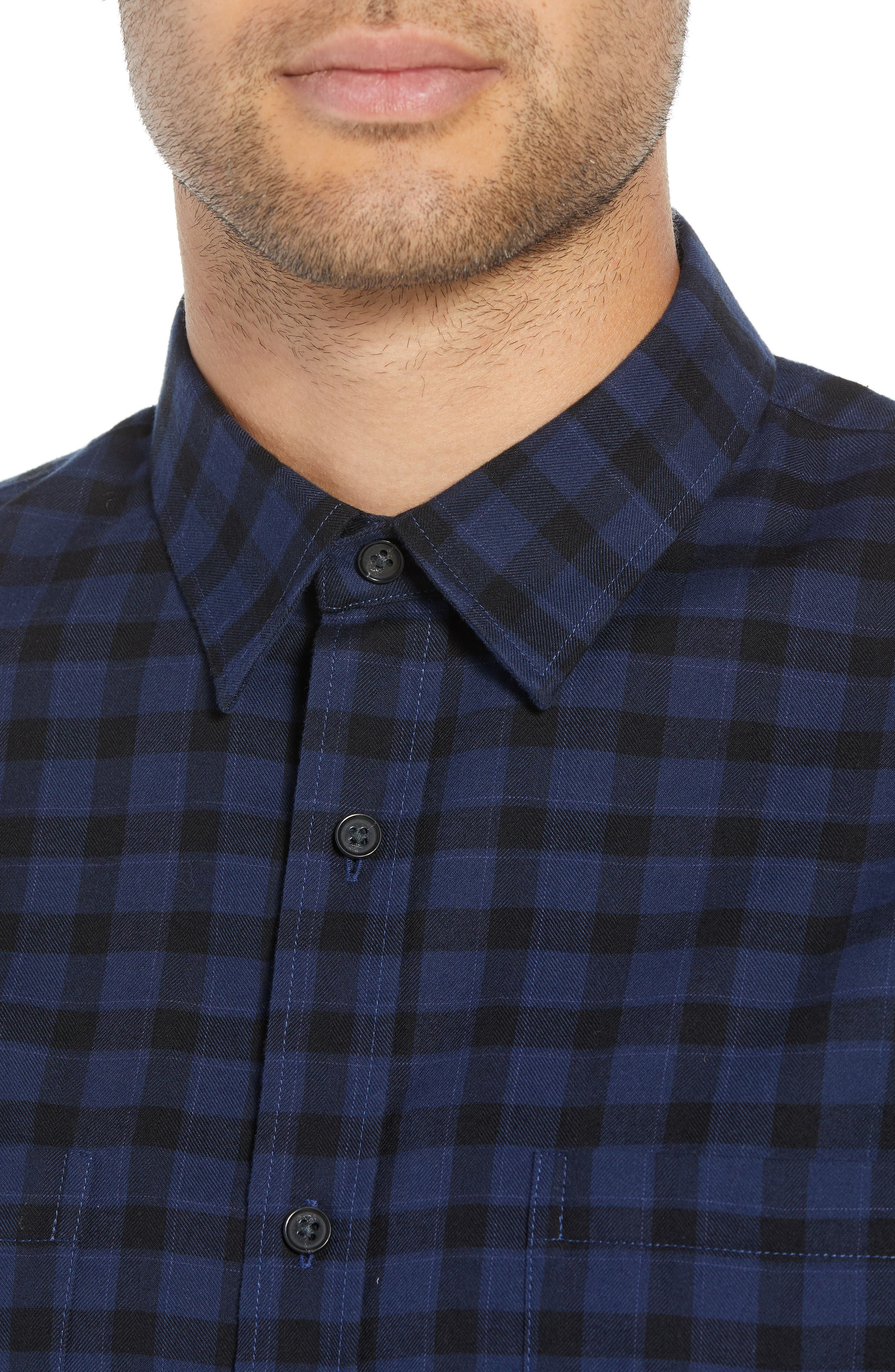 Classic Fit Gingham Sport Shirt,                             Alternate thumbnail 2, color,                             464