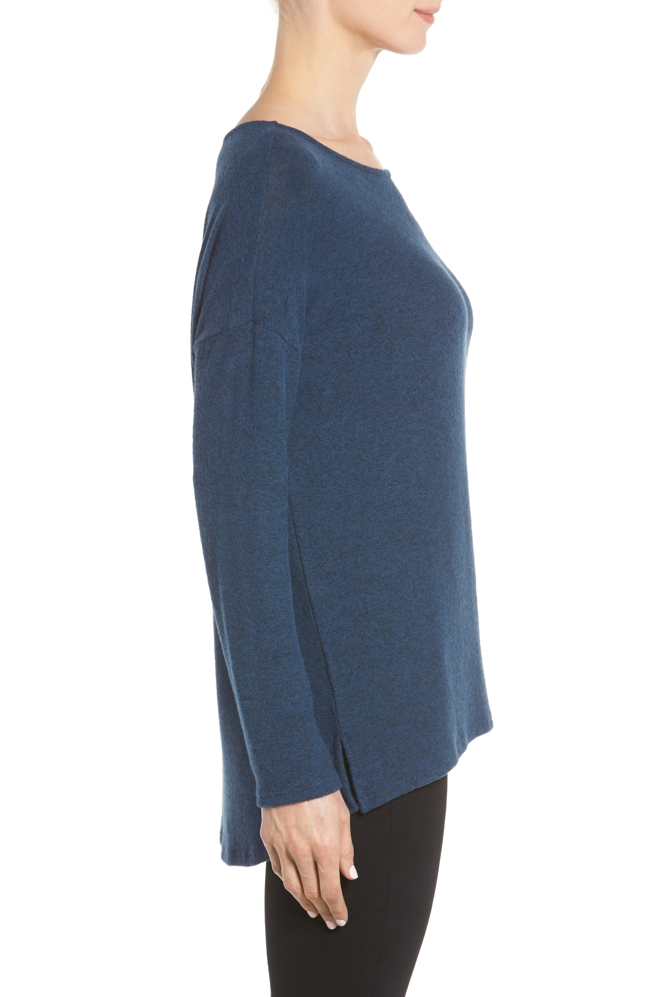 Cozy Ballet Neck High/Low Pullover,                             Alternate thumbnail 65, color,