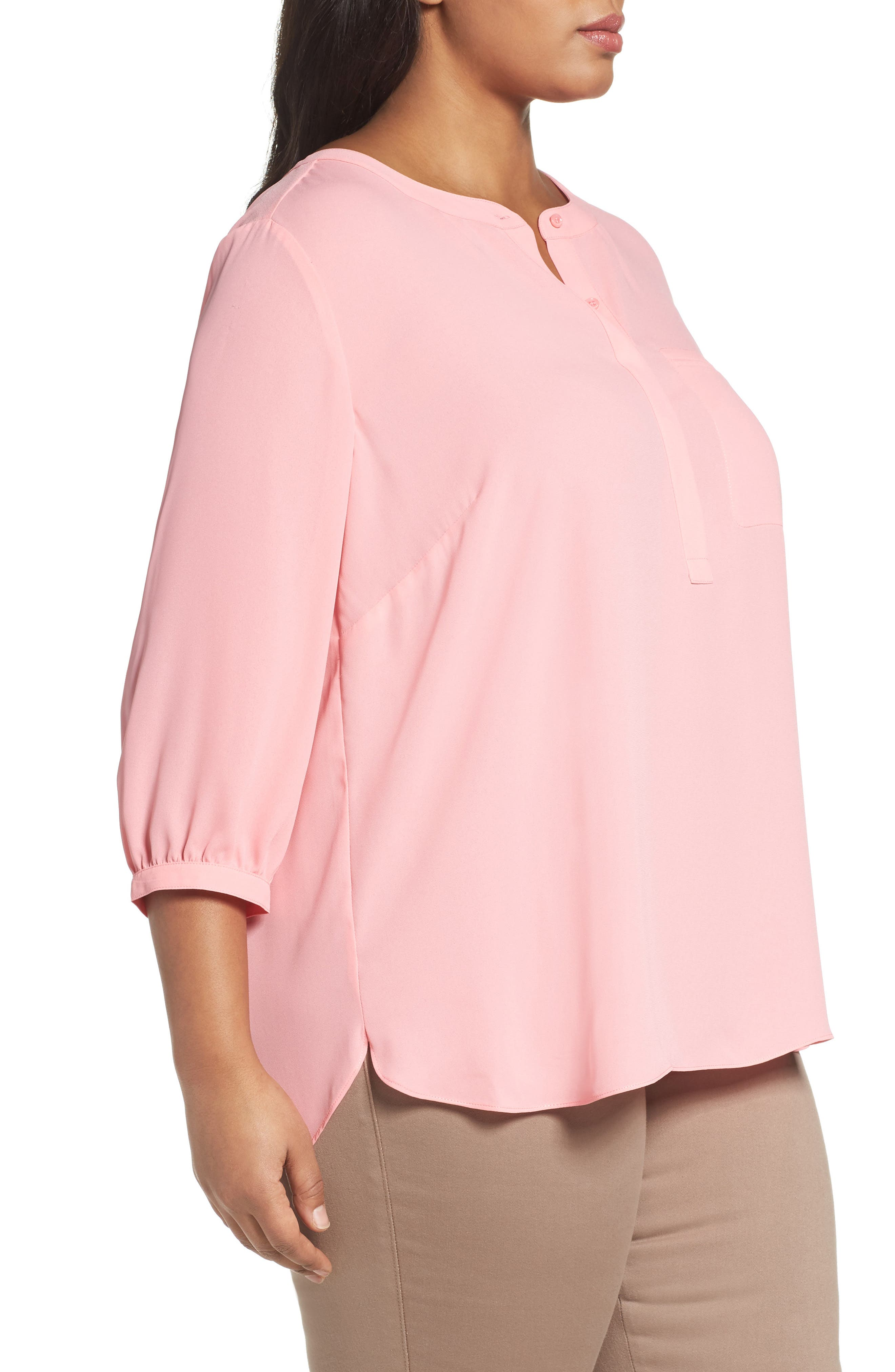 Henley Top,                             Alternate thumbnail 332, color,