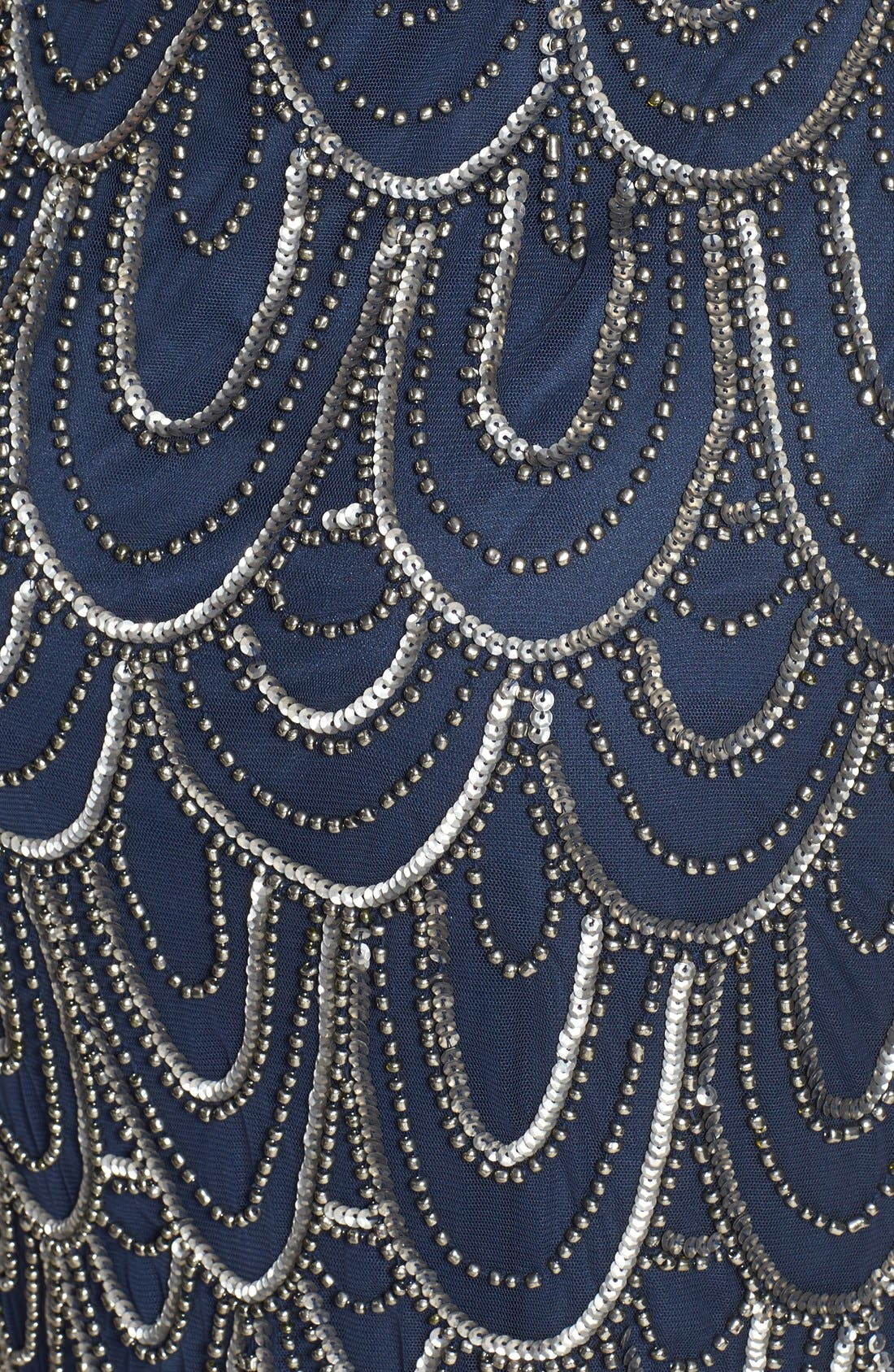 Embellished Mesh Sheath Dress,                             Alternate thumbnail 78, color,