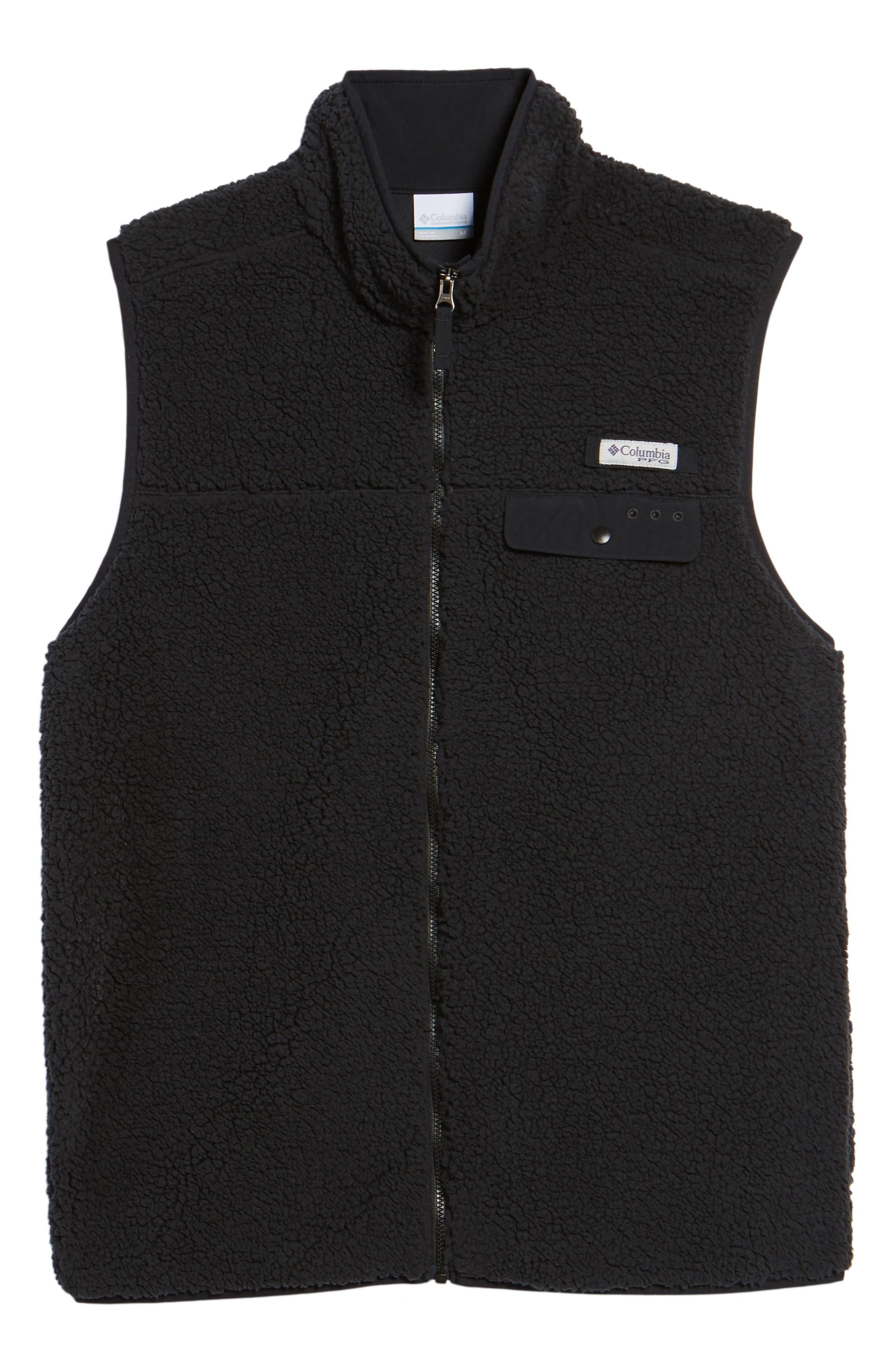 Sportswear Harborside Heavyweight Fleece Vest,                             Alternate thumbnail 5, color,                             010