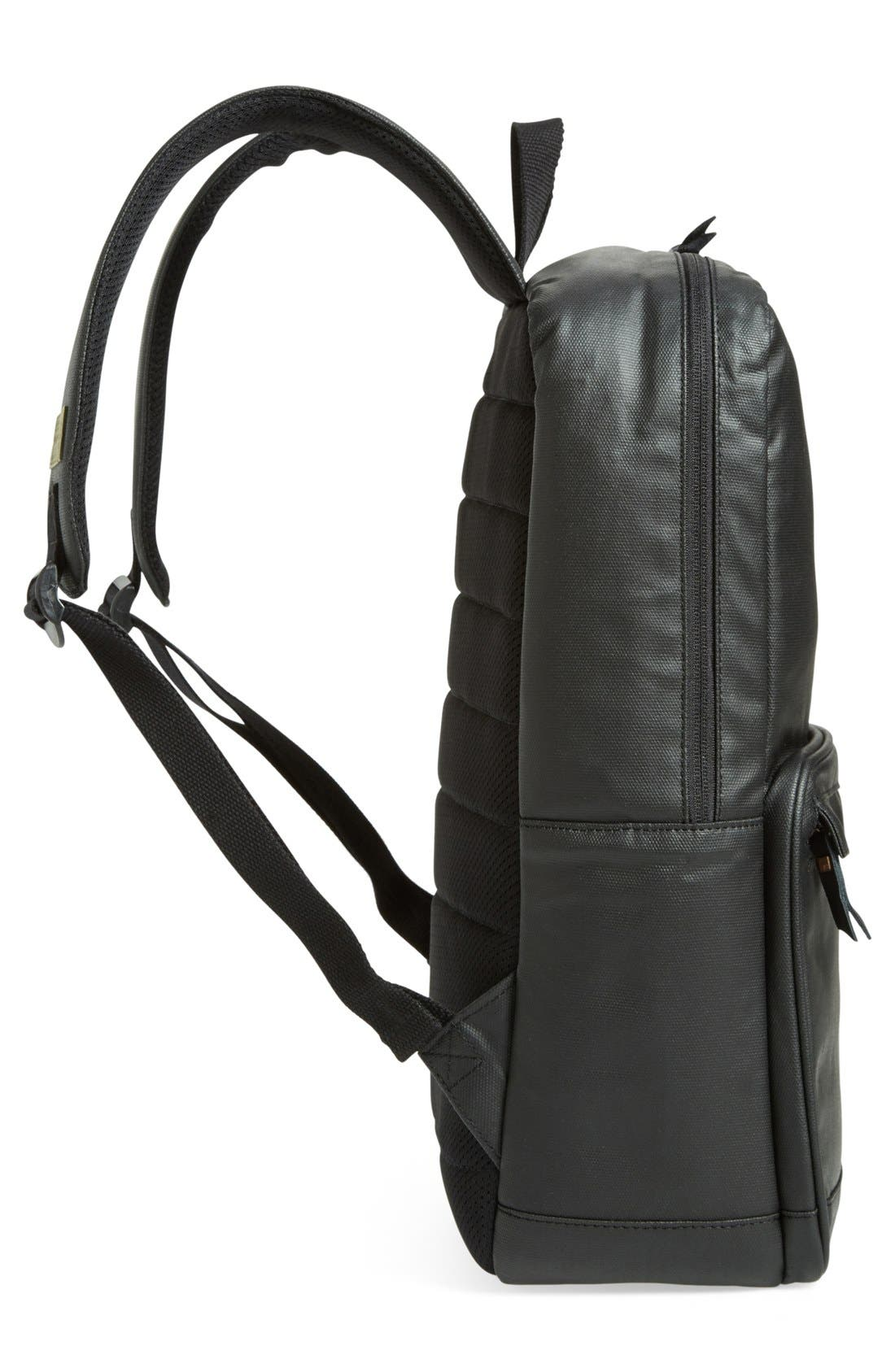 HEX,                             'Origin' Water Resistant Backpack,                             Alternate thumbnail 5, color,                             001