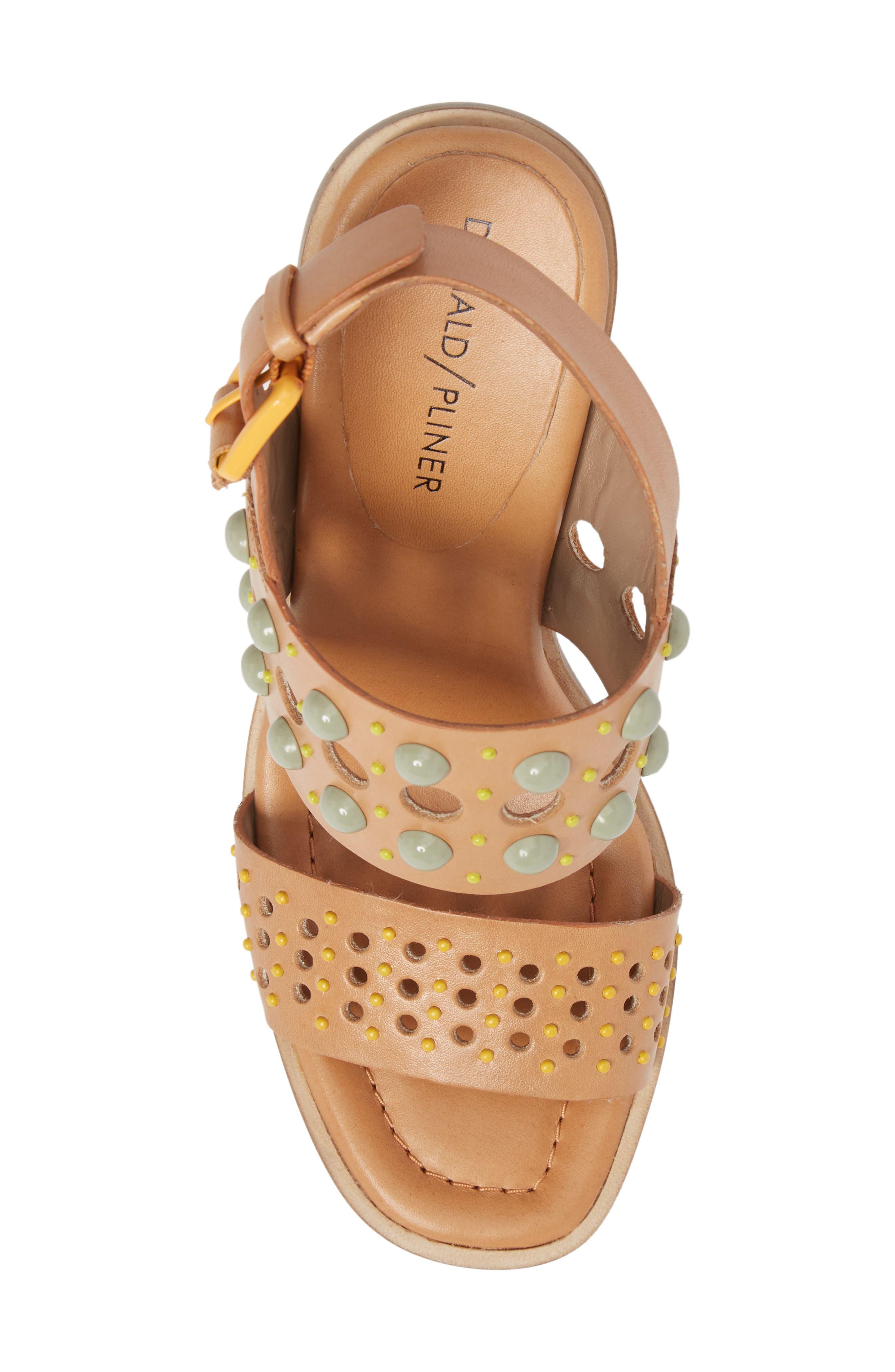 Estee Studded Sandal,                             Alternate thumbnail 10, color,