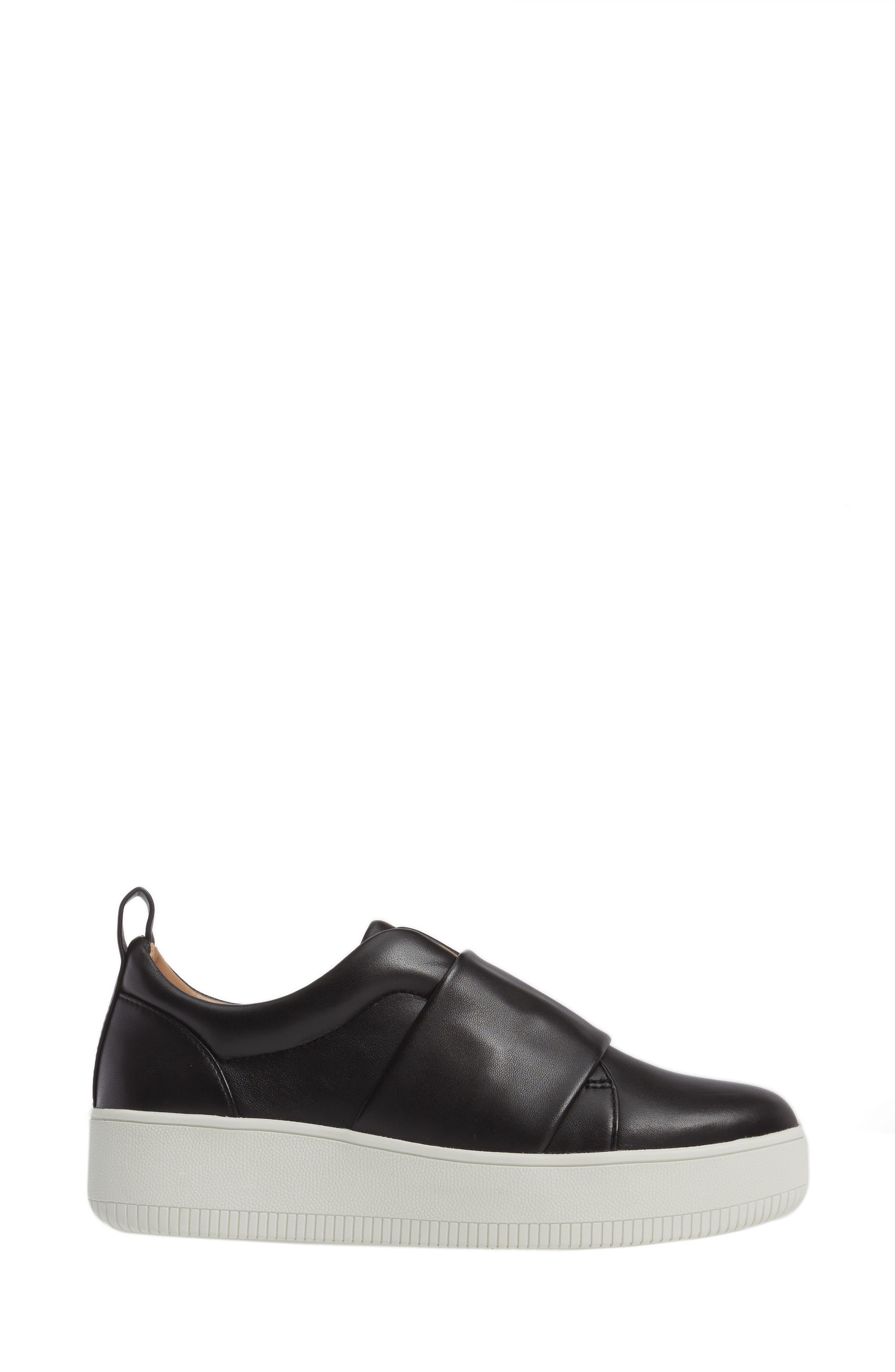 Suzie Platform Sneaker,                             Alternate thumbnail 3, color,                             001