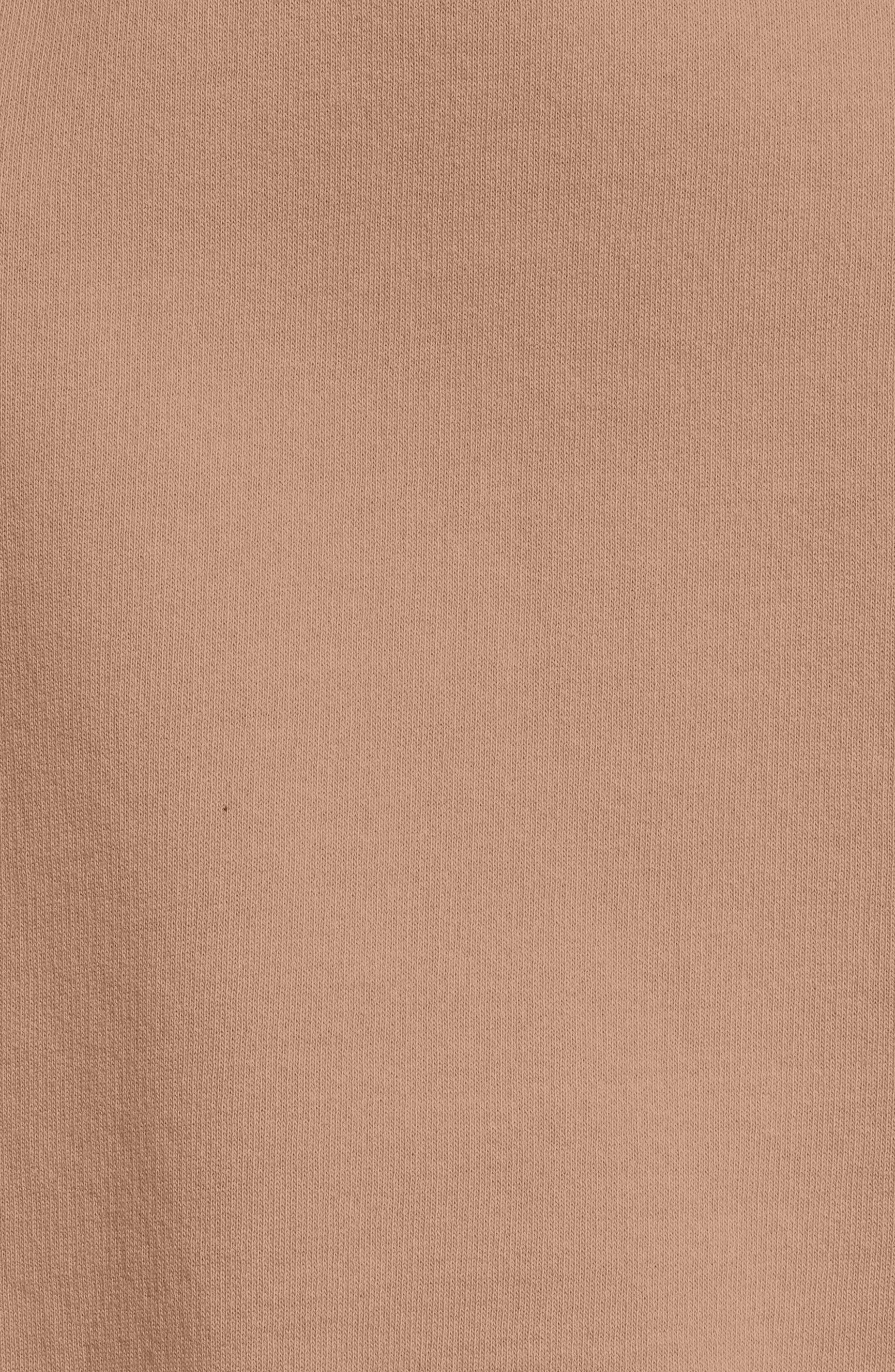 Side-Lace Sweatshirt,                             Alternate thumbnail 5, color,                             200