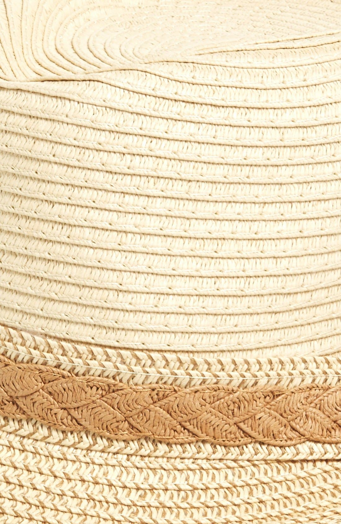 Straw Fedora,                             Alternate thumbnail 3, color,                             235