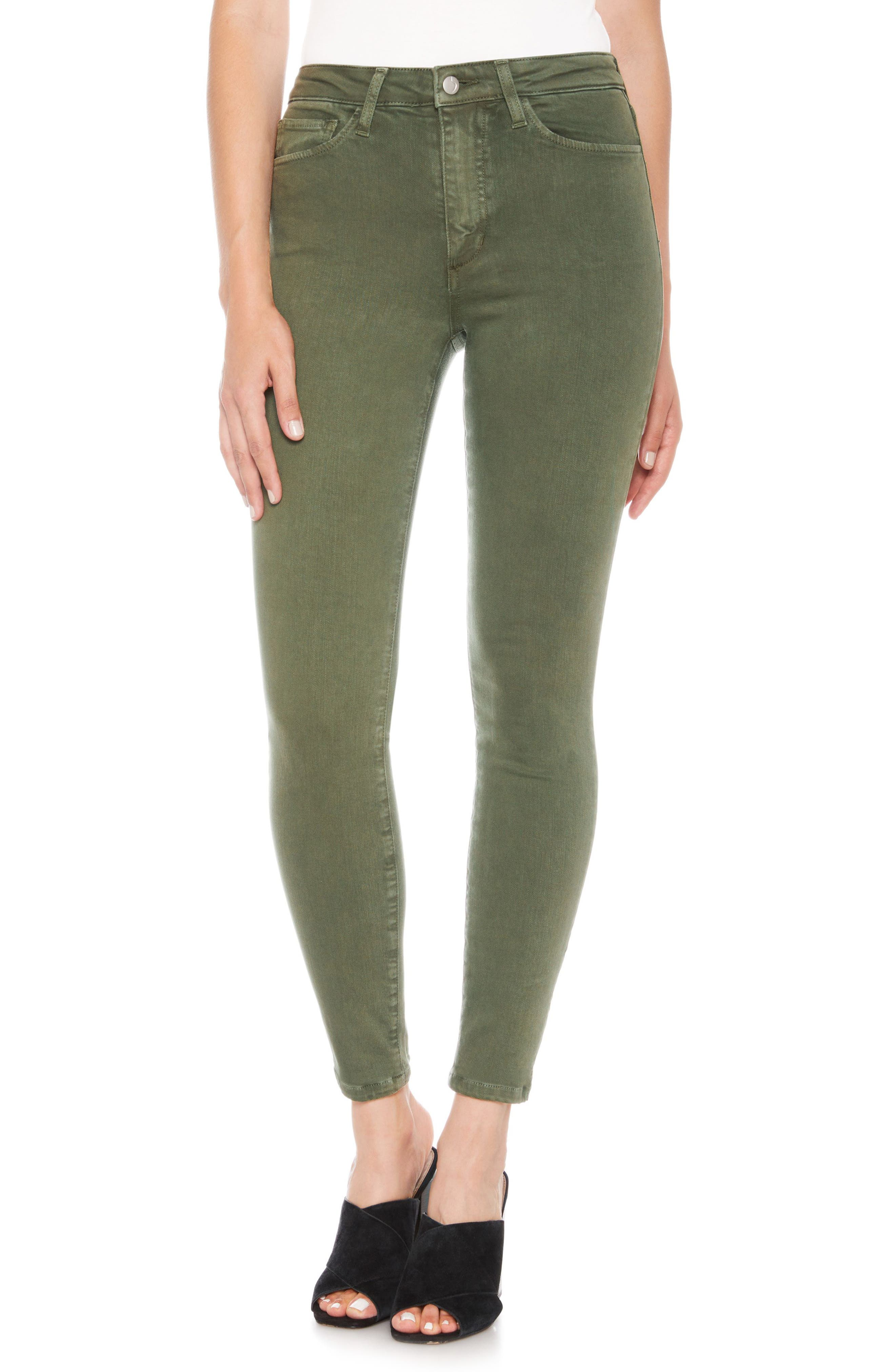 Charlie High Waist Ankle Skinny Jeans,                             Main thumbnail 2, color,