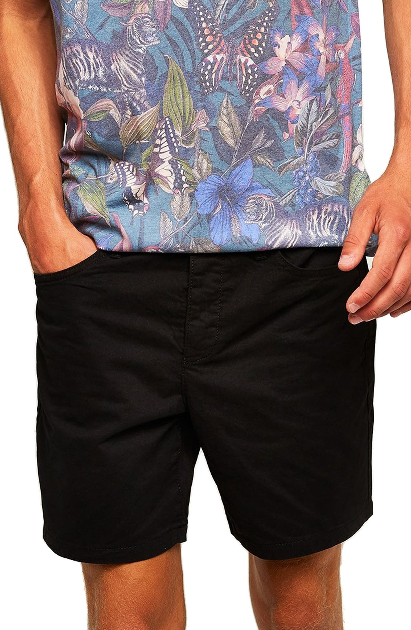 Utility Chino Shorts,                             Main thumbnail 1, color,                             001