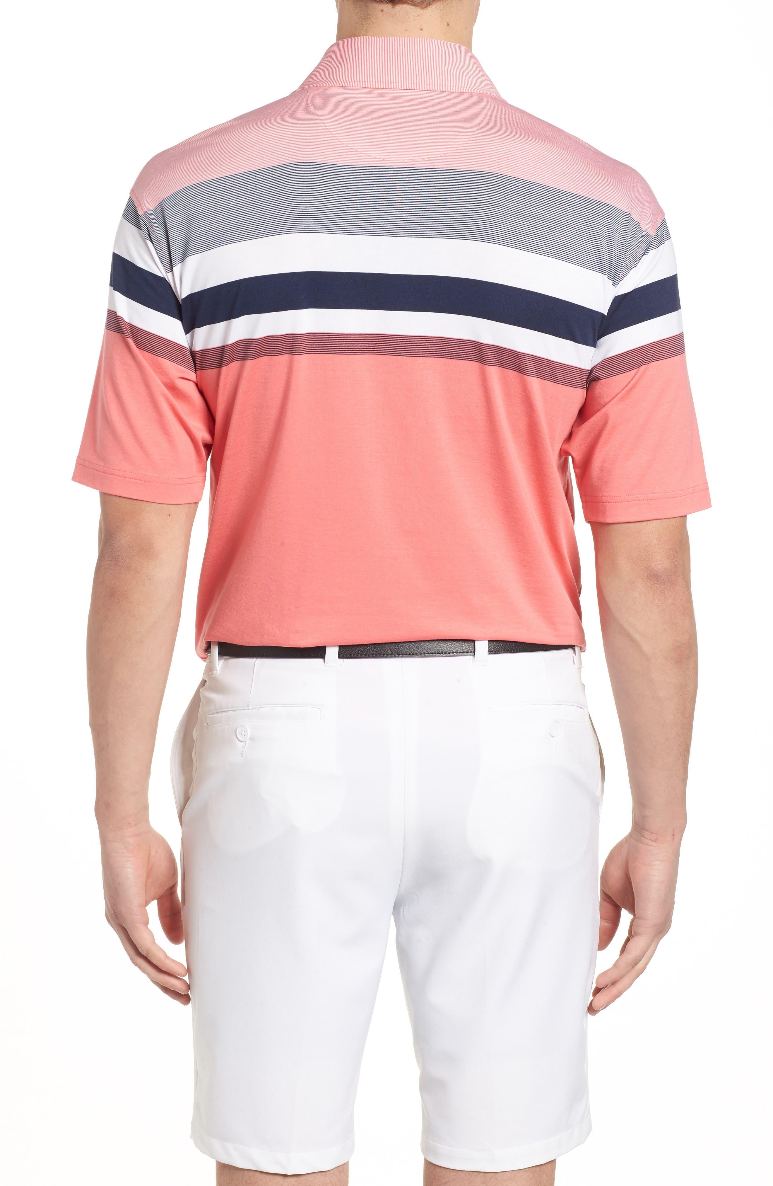 Horizon Stripe Polo,                             Alternate thumbnail 4, color,