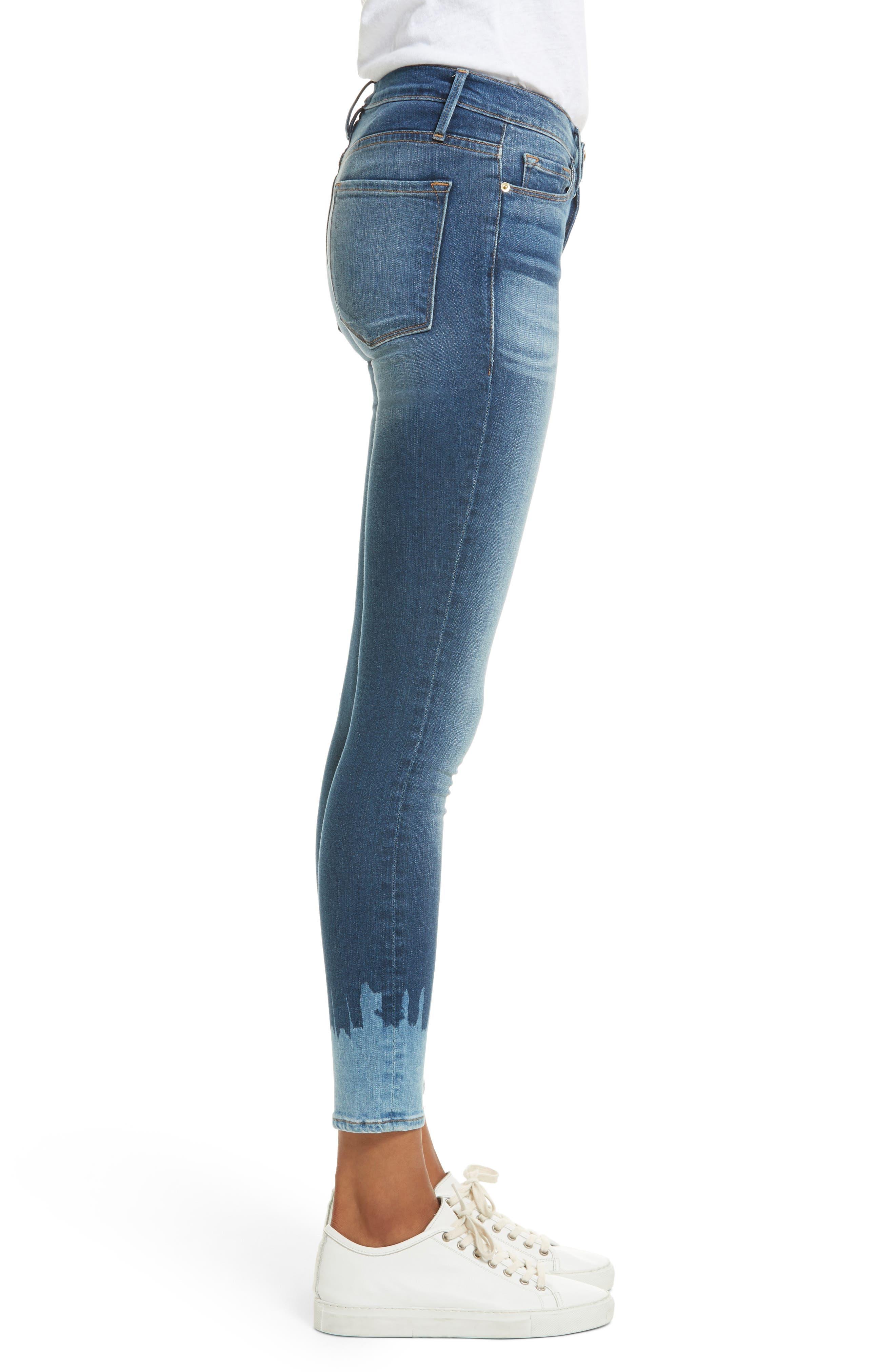 Le Skinny de Jeanne Jeans,                             Alternate thumbnail 3, color,                             420