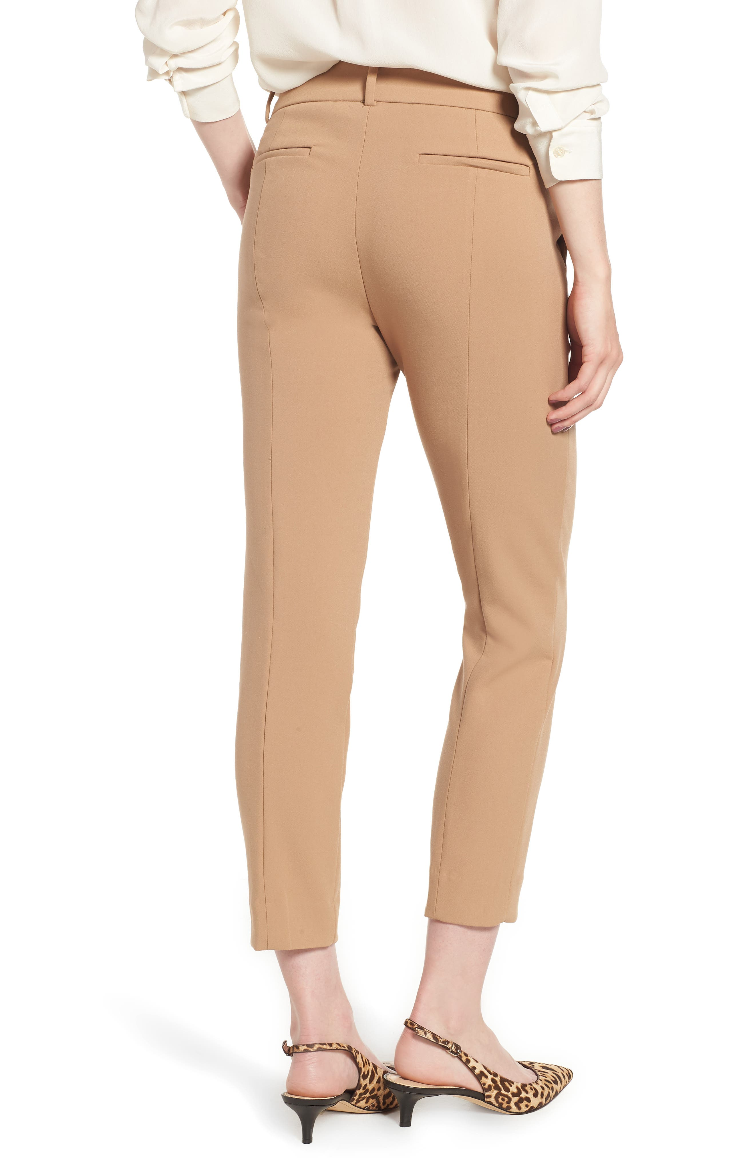 Cameron Four Season Crop Pants,                             Alternate thumbnail 2, color,                             HEATHER SADDLE