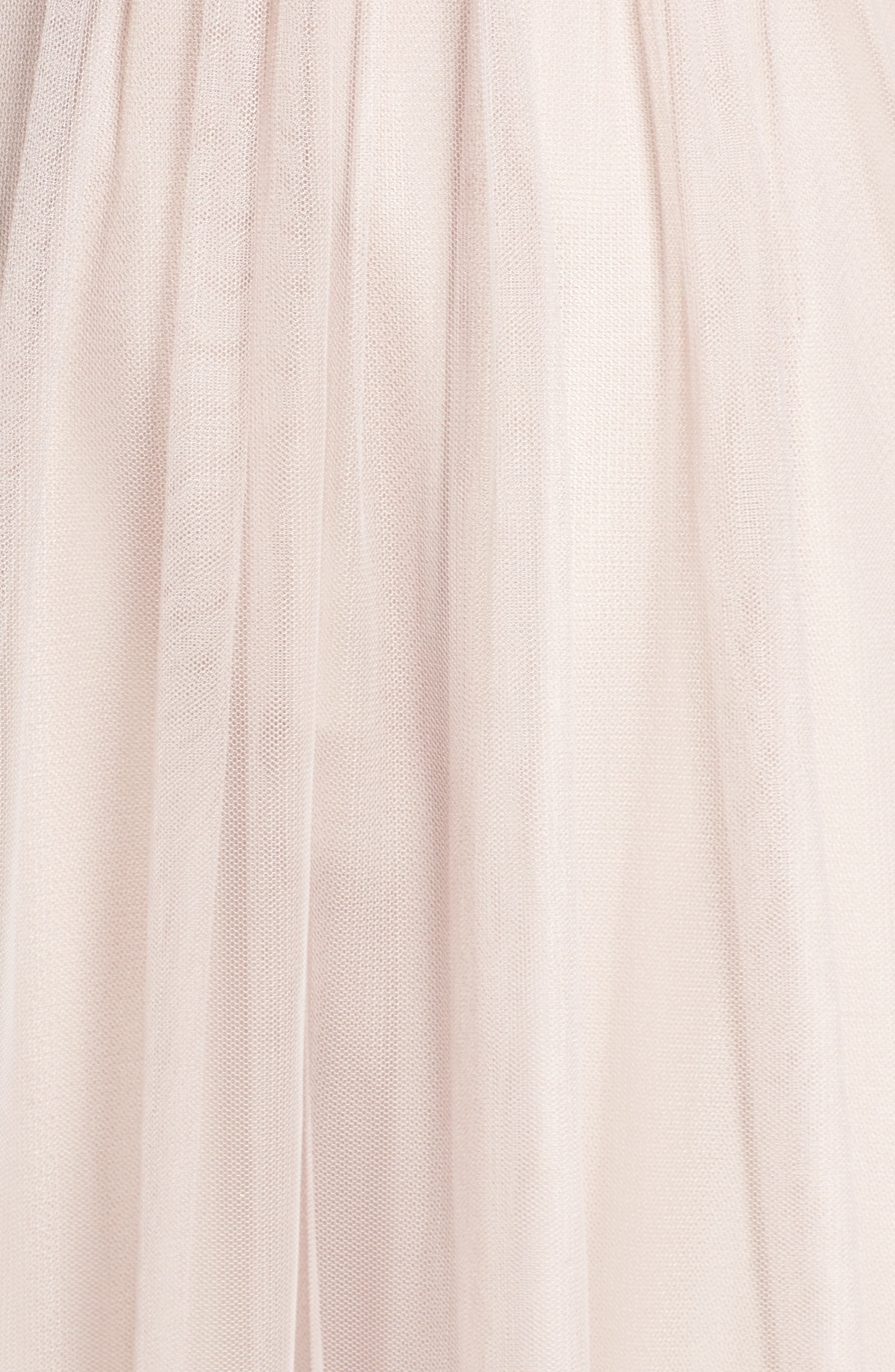 Strapless Tulle Gown,                             Alternate thumbnail 10, color,