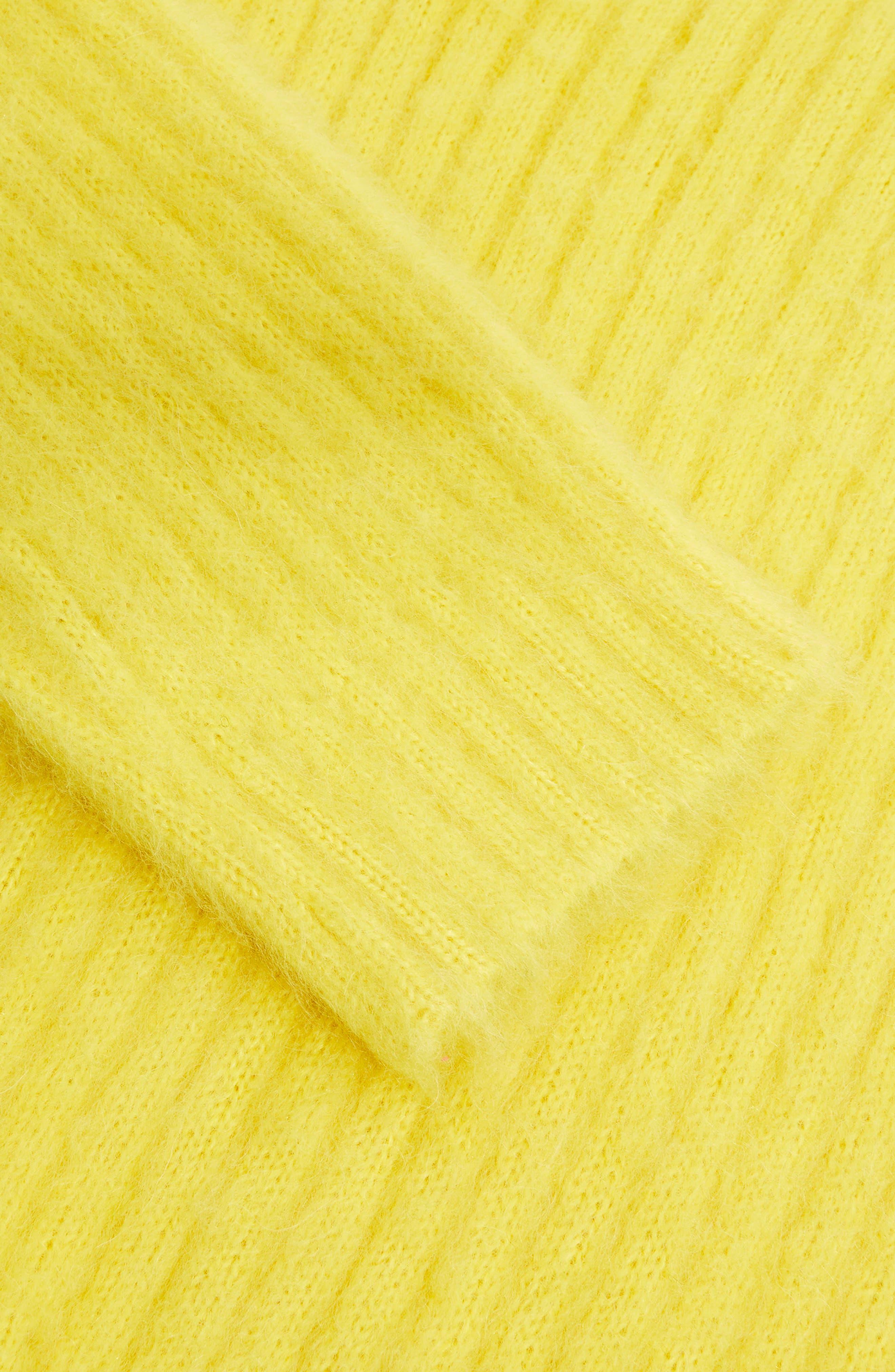 V-Neck Rib Sweater,                             Alternate thumbnail 8, color,                             700