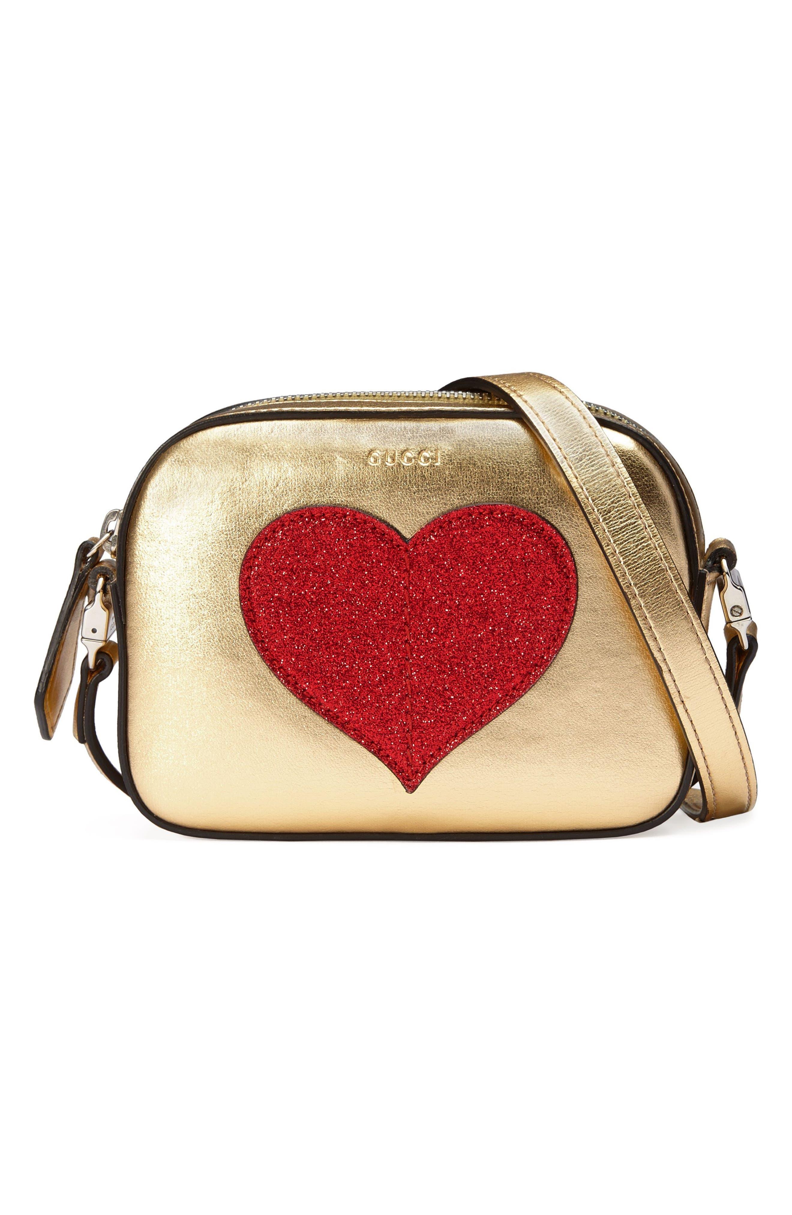 Leather Messenger Bag,                         Main,                         color, 713
