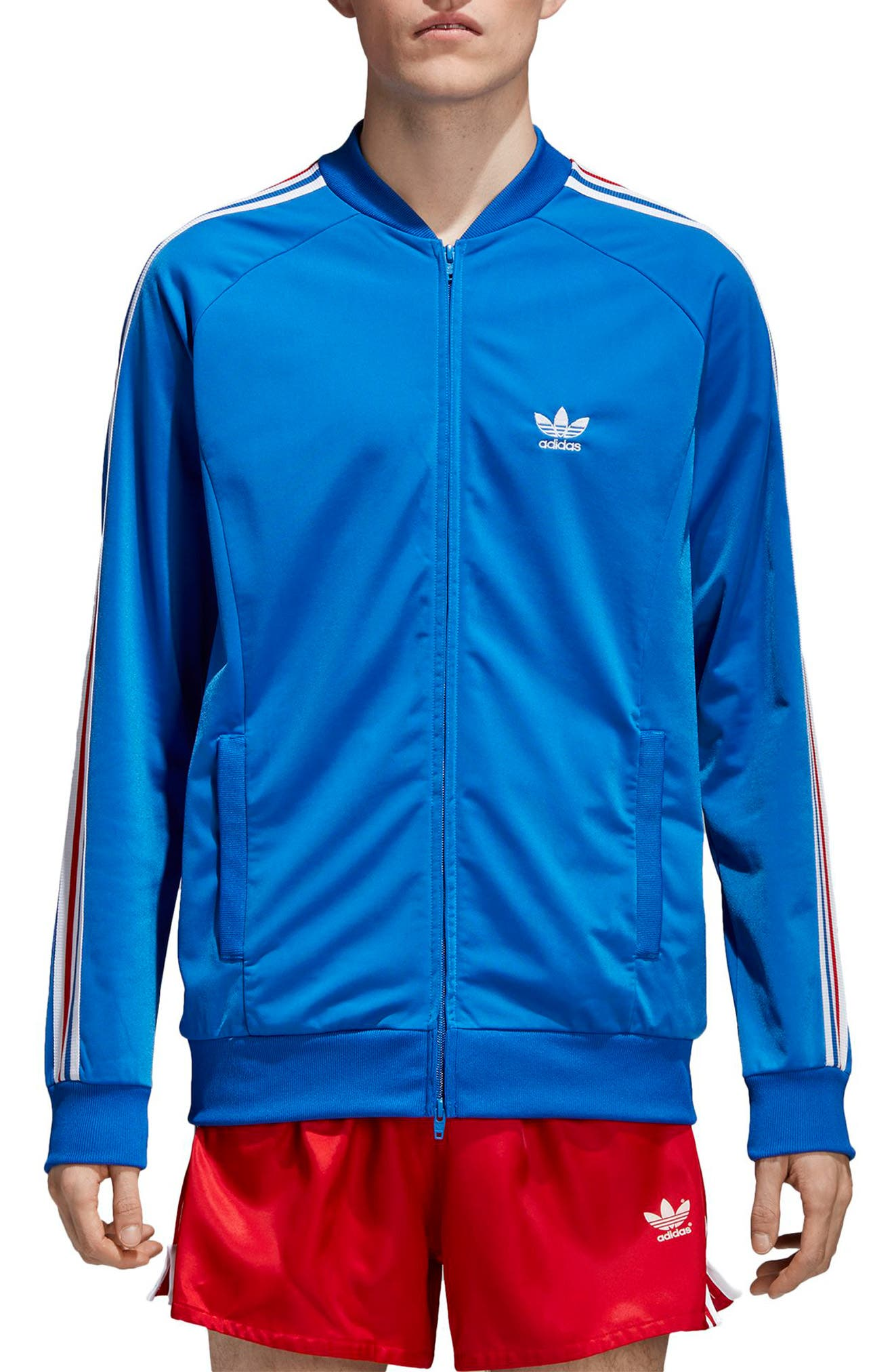 SST Track Jacket,                             Main thumbnail 1, color,                             435