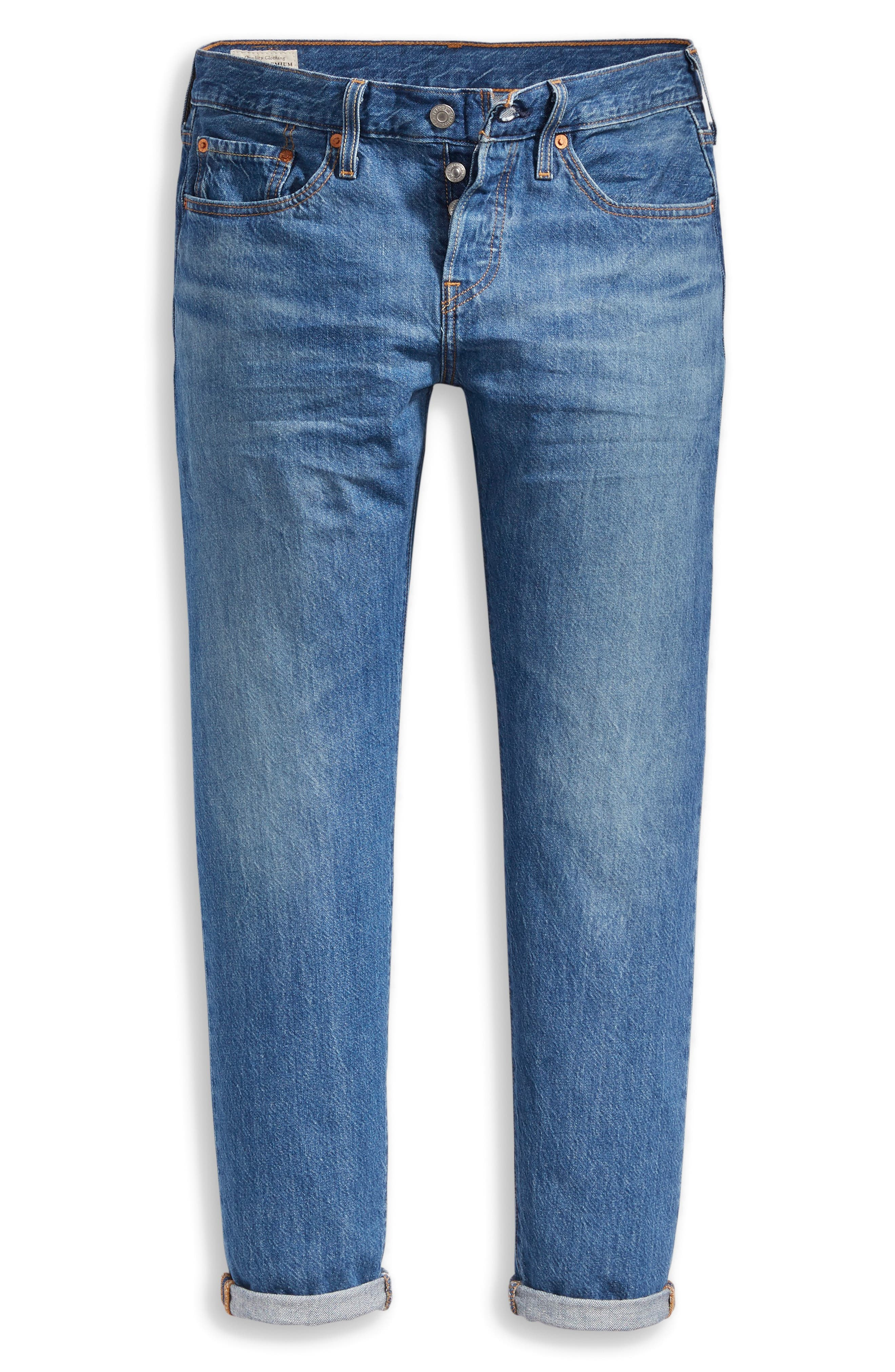 501<sup>®</sup> Ankle Taper Jeans,                             Alternate thumbnail 4, color,                             FOREVER YOUR GIRL