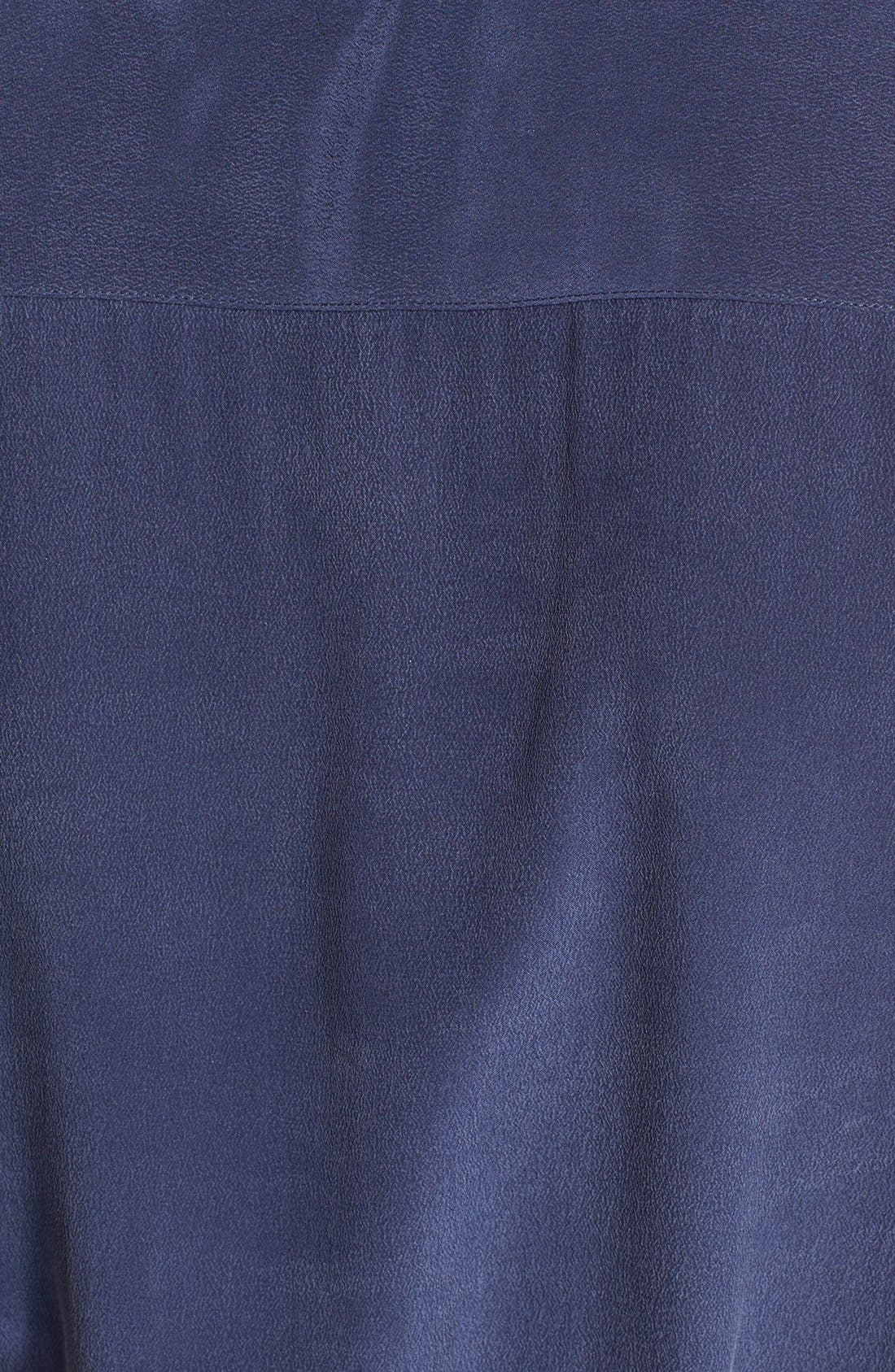 'Tegan' Midi Silk Shirtdress,                             Alternate thumbnail 2, color,                             404