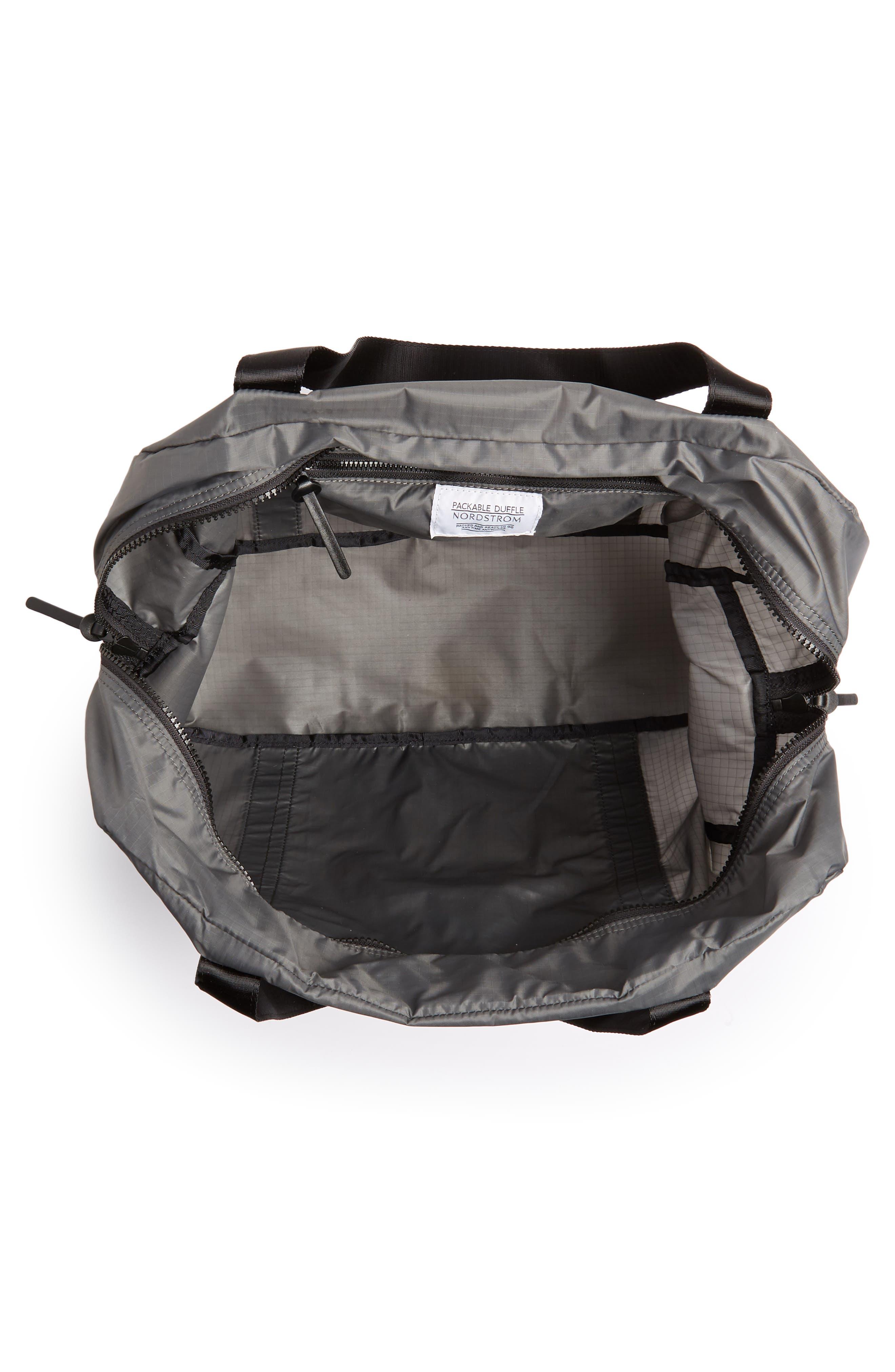 Packable Nylon Duffel Bag,                             Alternate thumbnail 11, color,