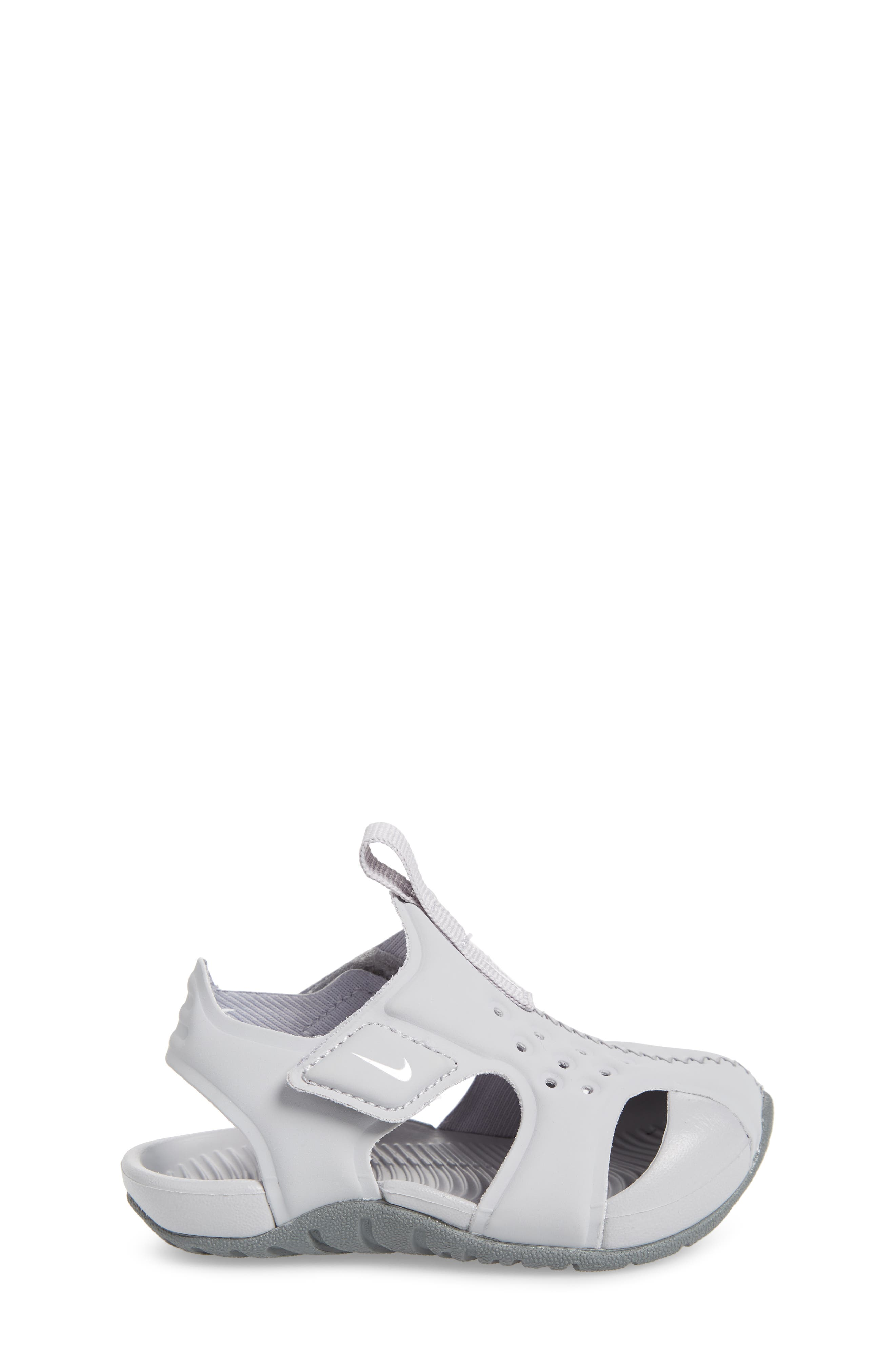 Sunray Protect 2 Sandal,                             Alternate thumbnail 3, color,                             WHITE/ WOLF GREY