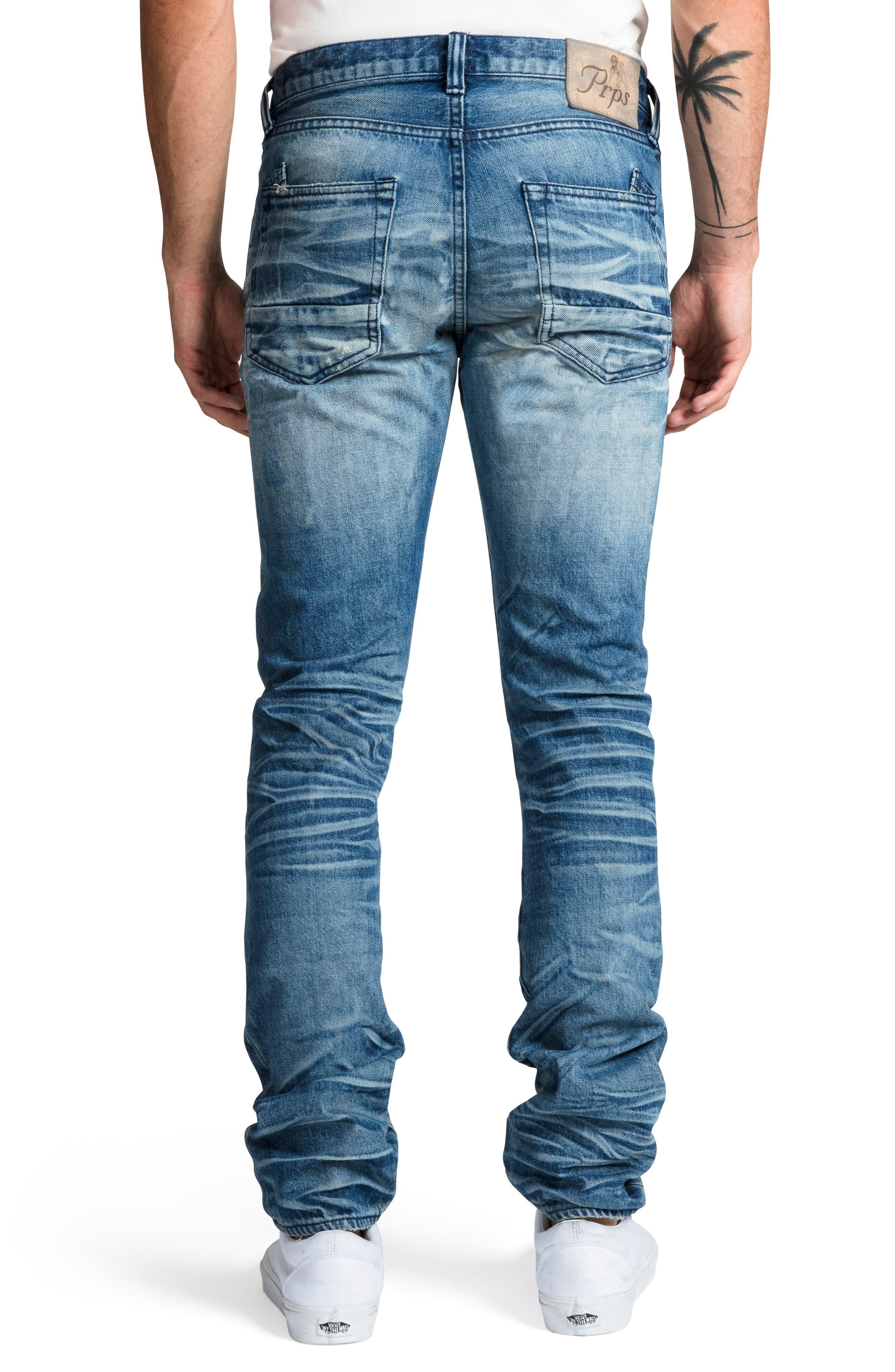 Le Sabre Slim Fit Jeans,                             Alternate thumbnail 2, color,                             COOING
