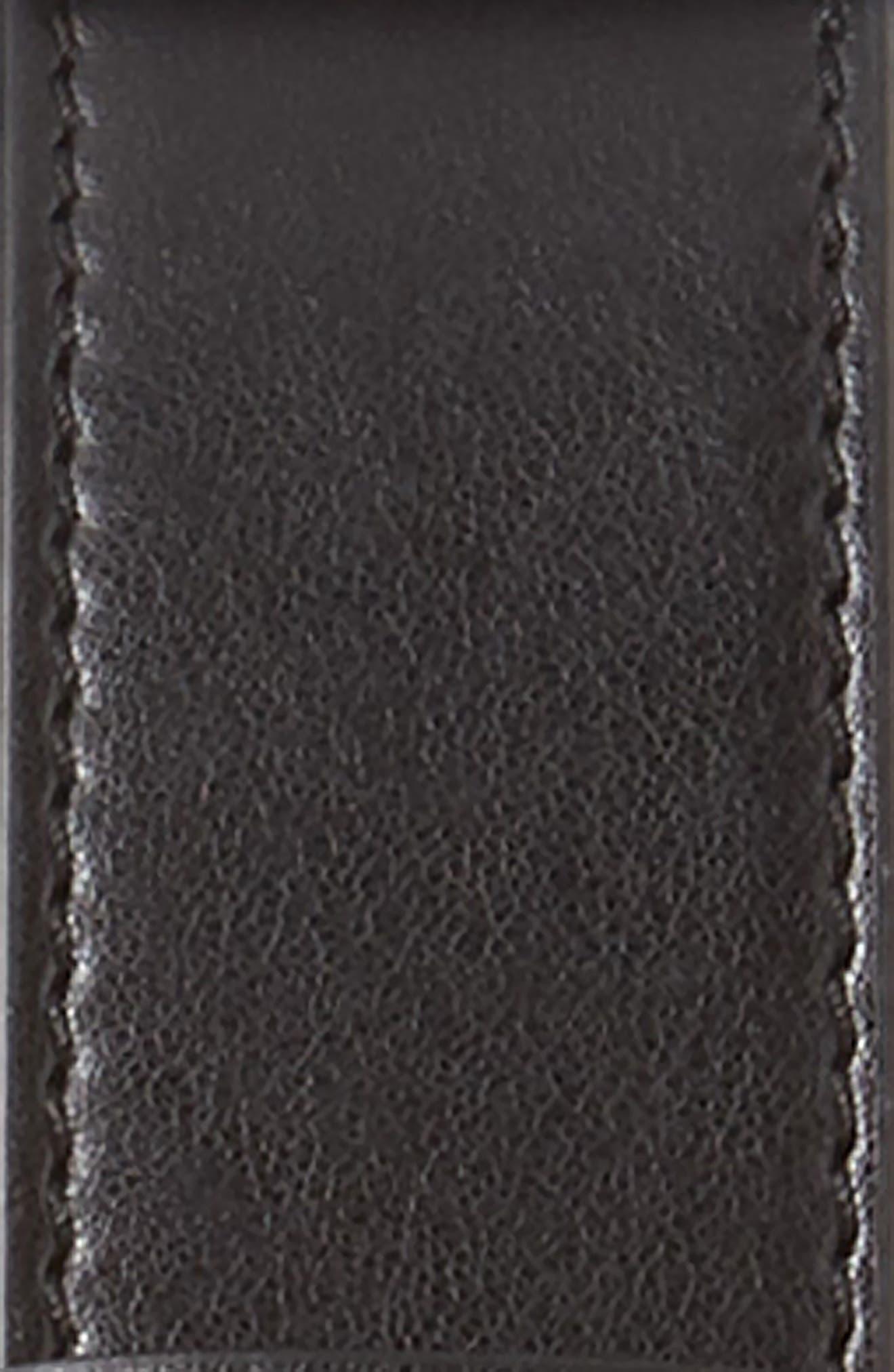 Eco Alter Nappa Belt,                             Alternate thumbnail 3, color,                             001