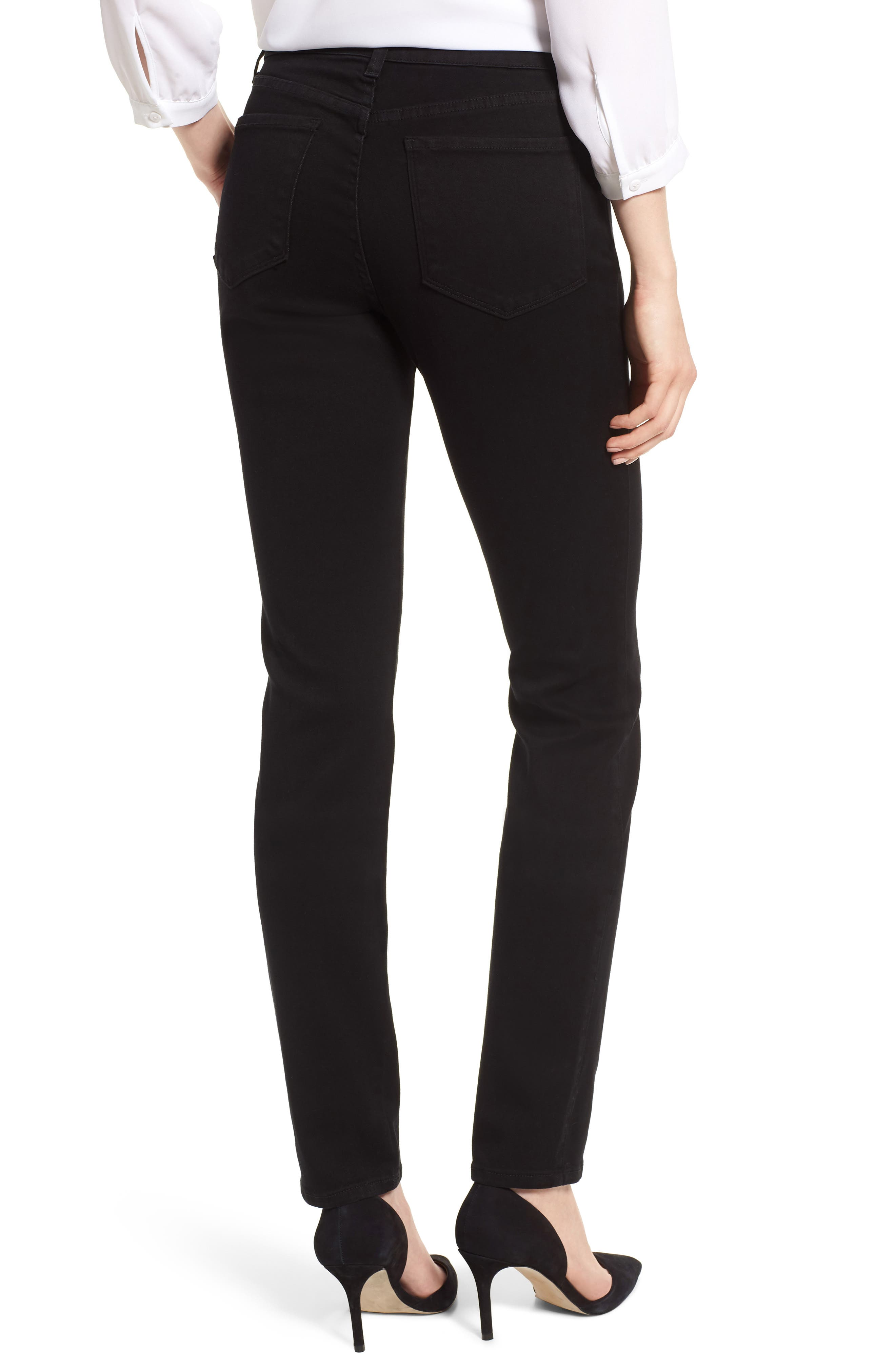 Alina Stretch Skinny Jeans,                             Alternate thumbnail 2, color,                             001