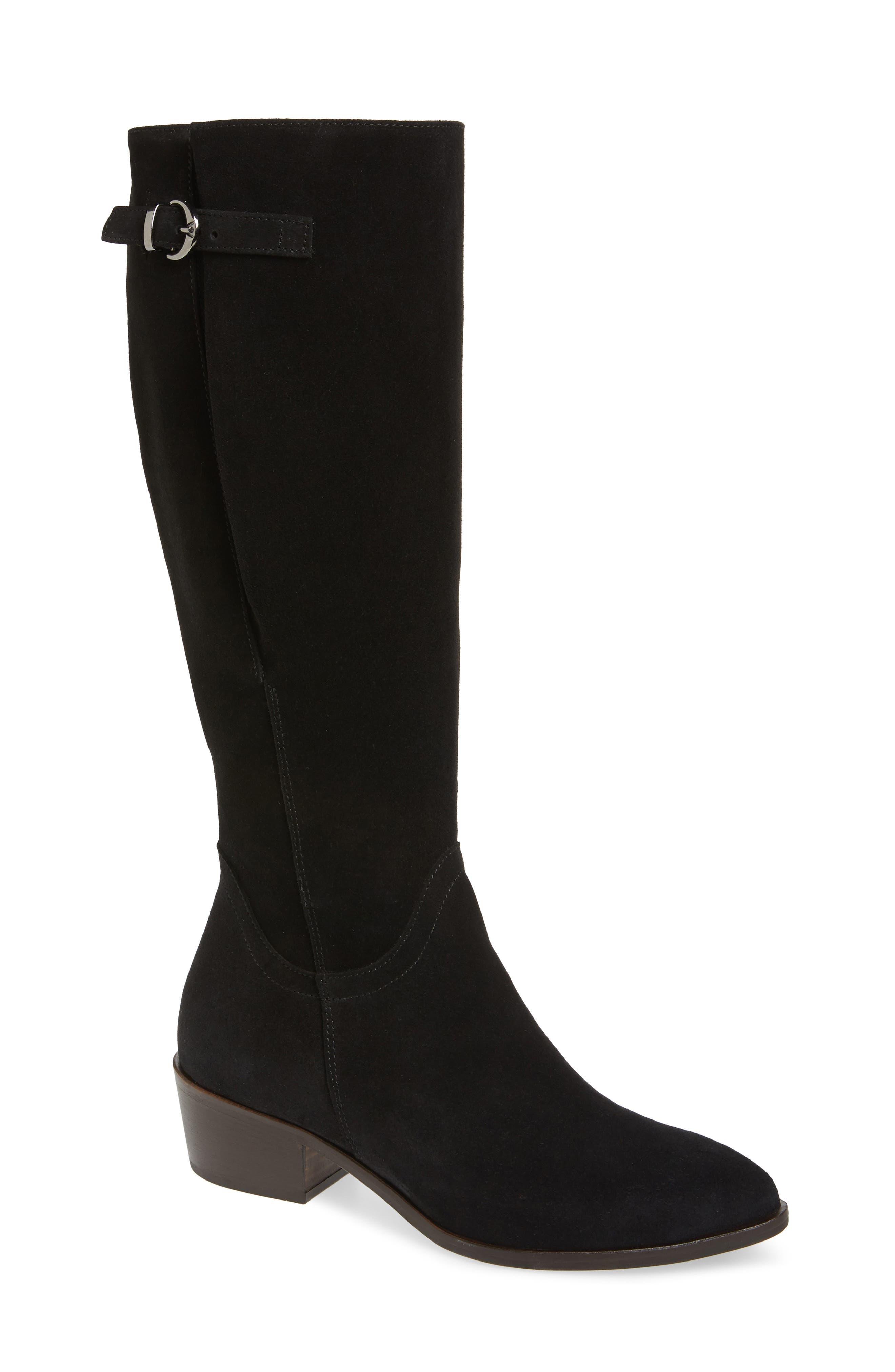 Italeau Tosca Waterproof Knee High Boot - Black