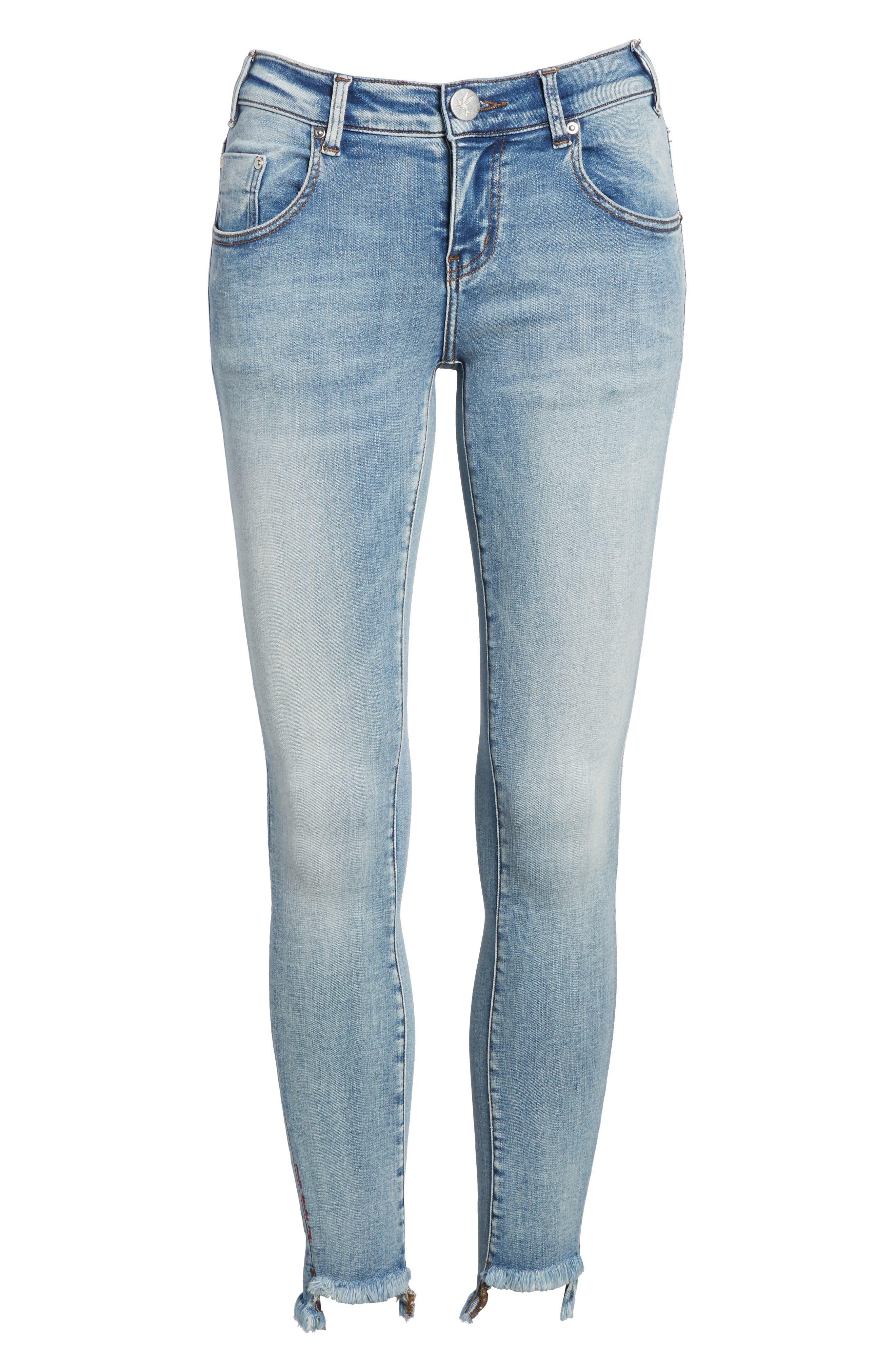 Freebirds Skinny Jeans,                             Alternate thumbnail 7, color,