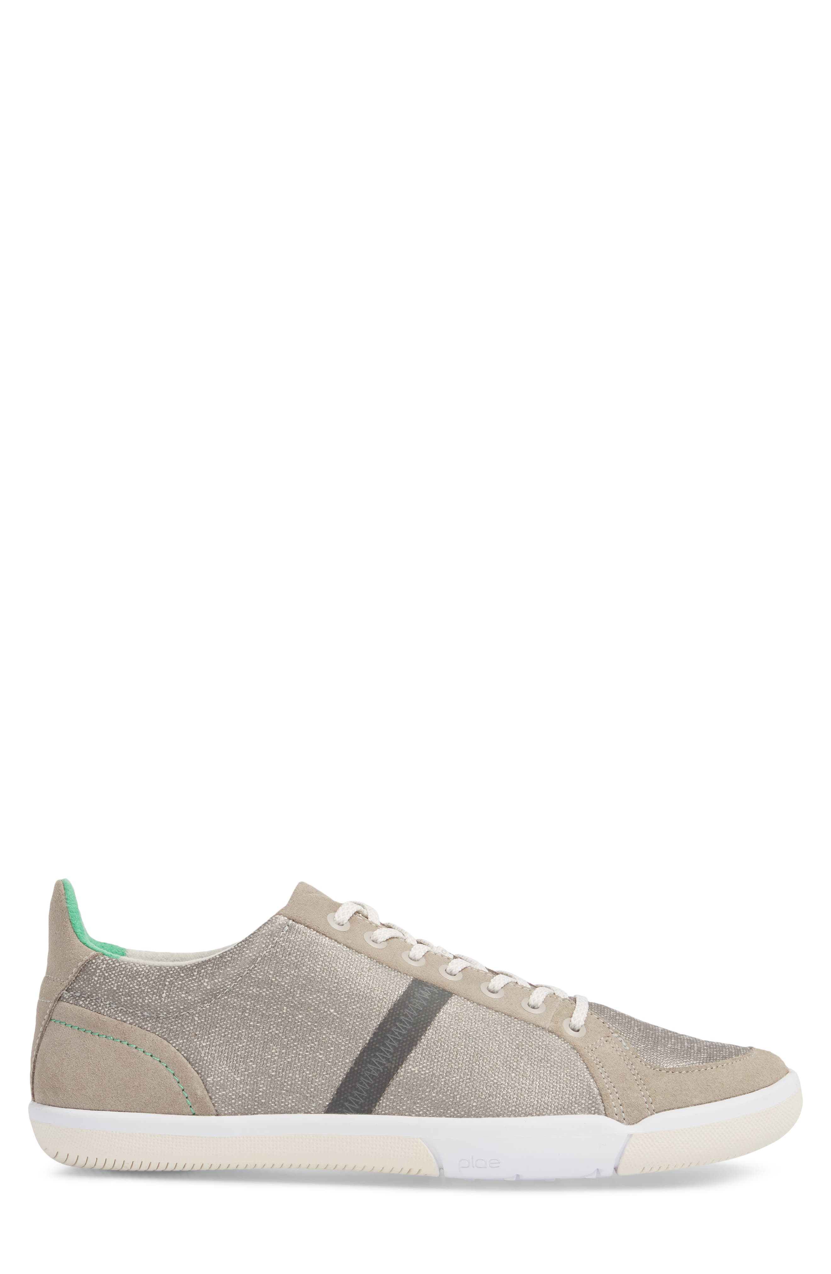 Prospect Low Top Sneaker,                             Alternate thumbnail 3, color,                             STONE