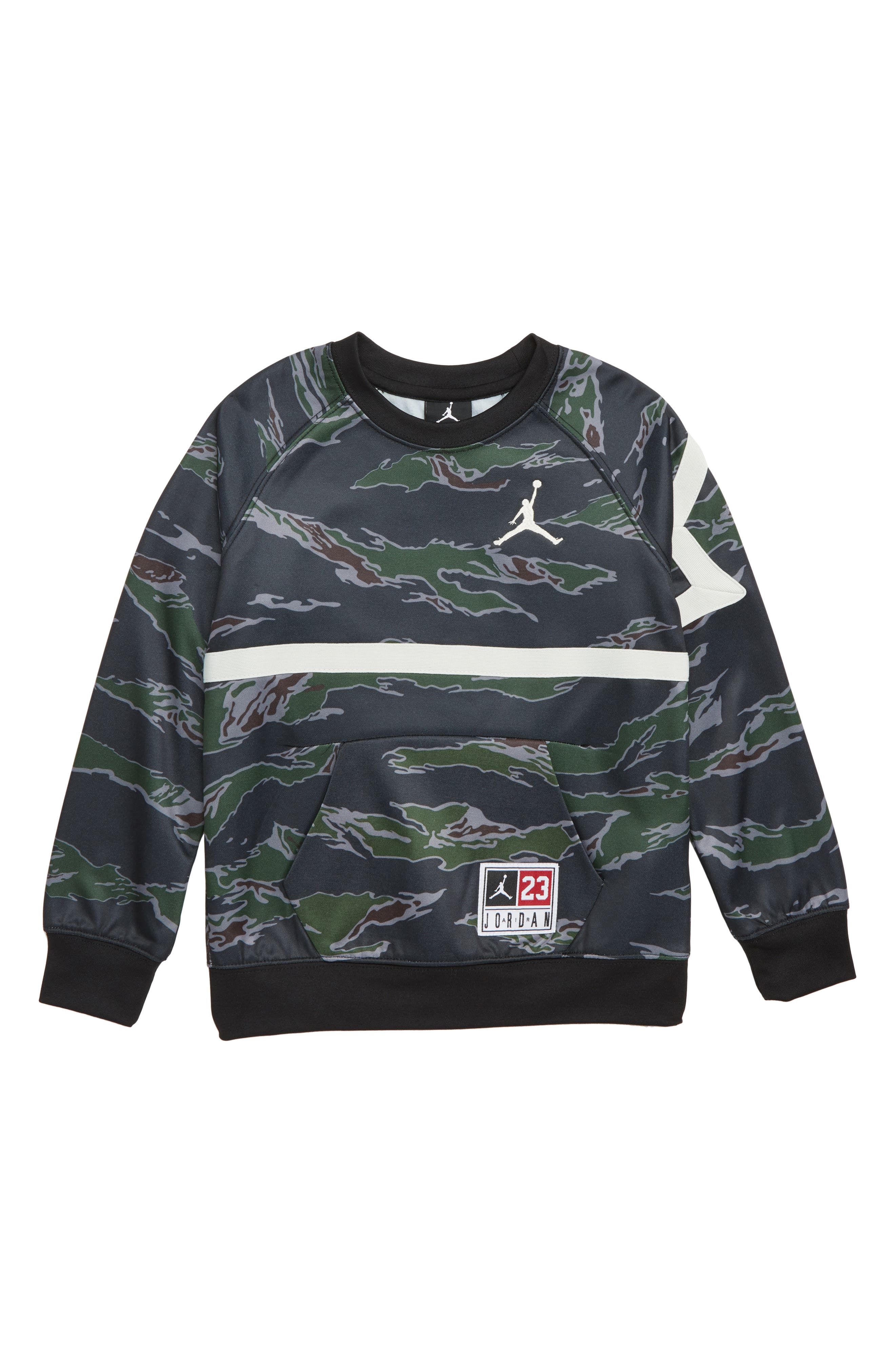 Boys Jordan Tiger Camo Sweatshirt