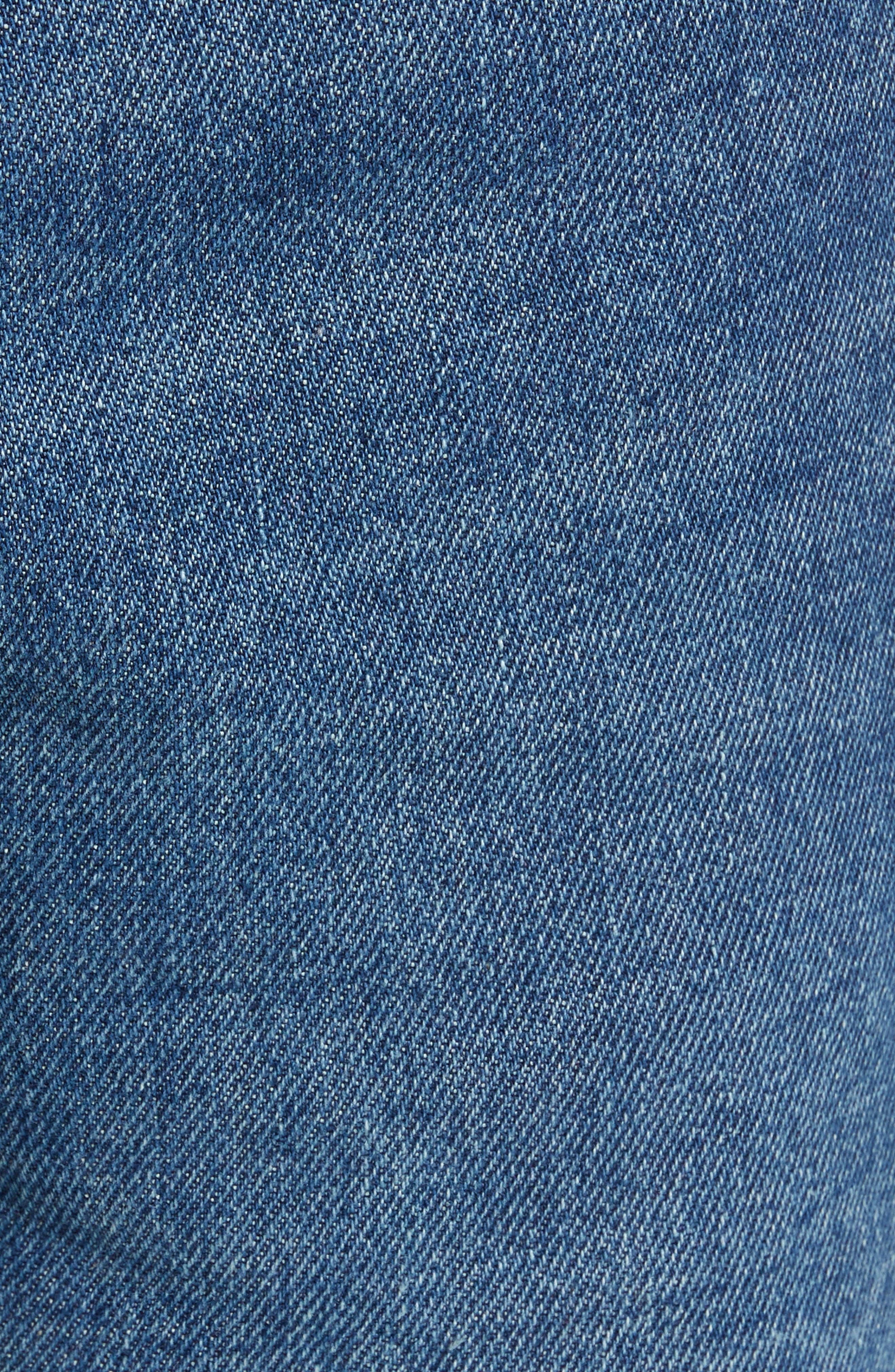 Labor Straight Leg Jeans,                             Alternate thumbnail 5, color,                             400