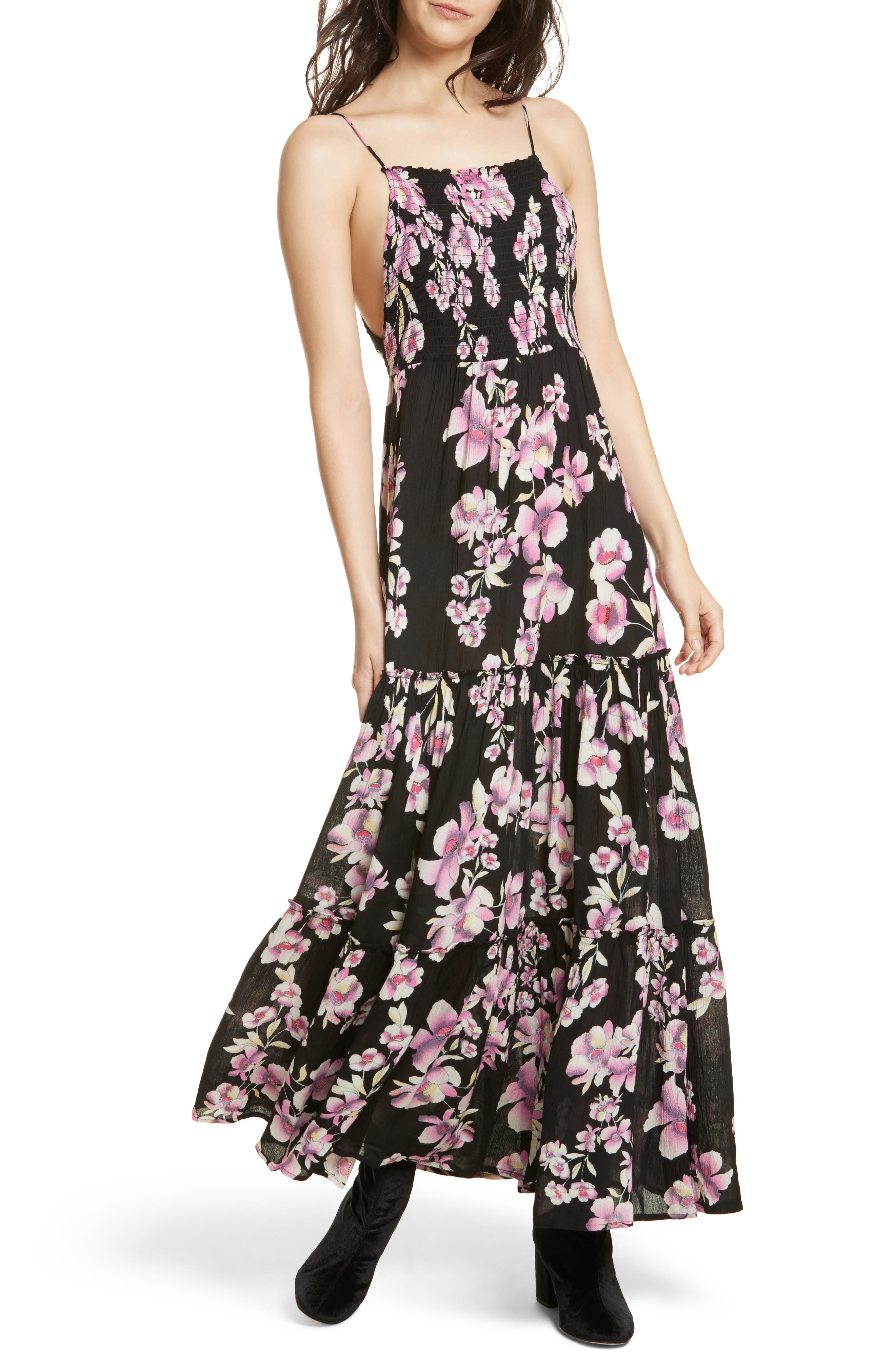 Garden Party Maxi Dress,                             Main thumbnail 1, color,