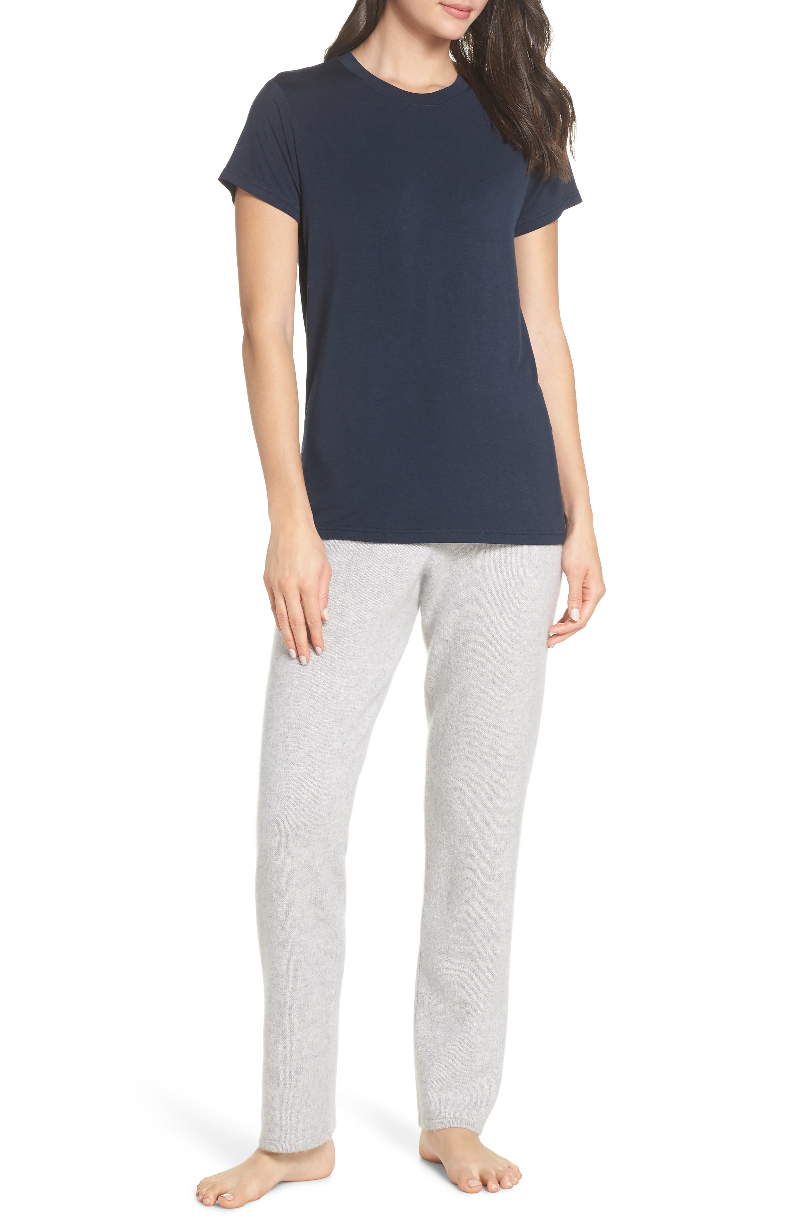 Easy Tee,                             Alternate thumbnail 7, color,                             NAVY CARBON