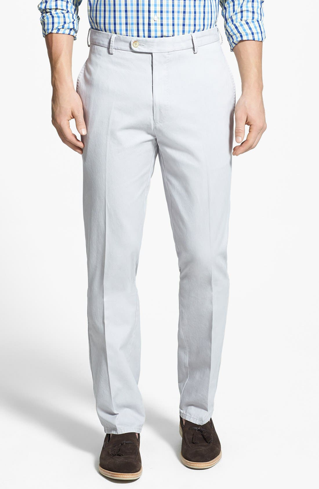 Garment Washed Twill Pants,                         Main,                         color,