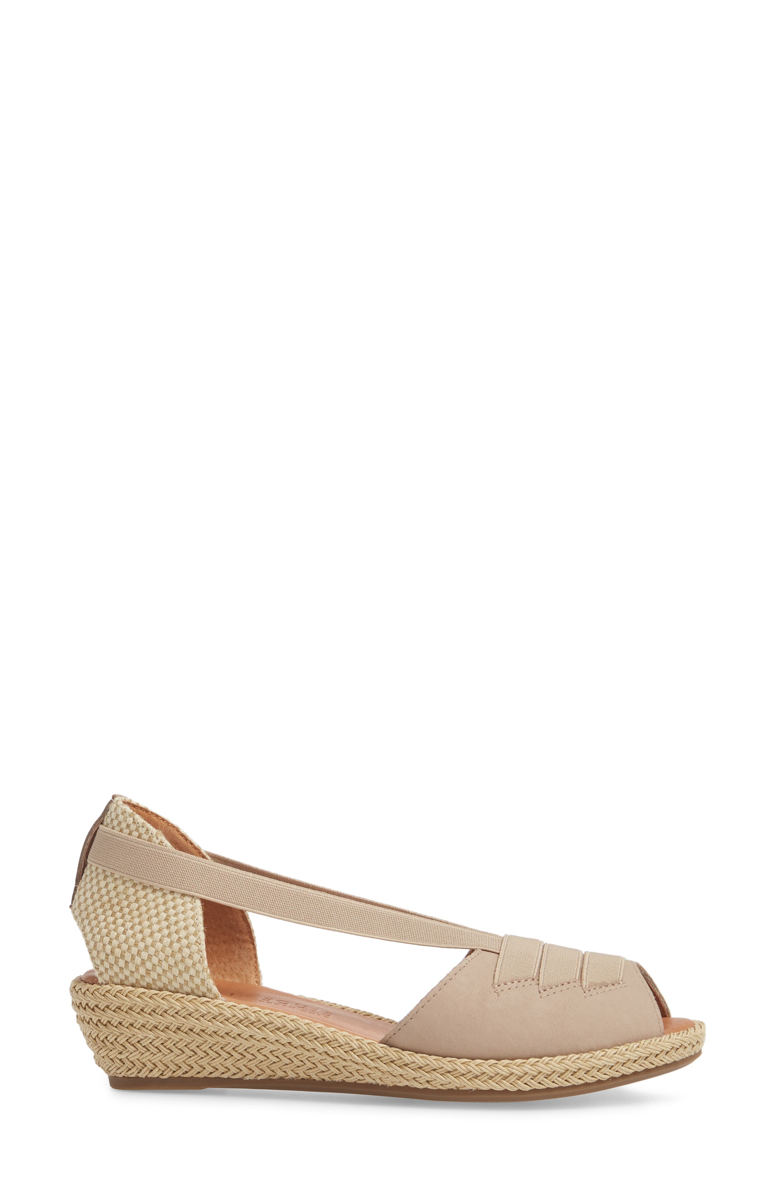 by Kenneth Cole Luci Wedge Sandal,                             Alternate thumbnail 3, color,                             020