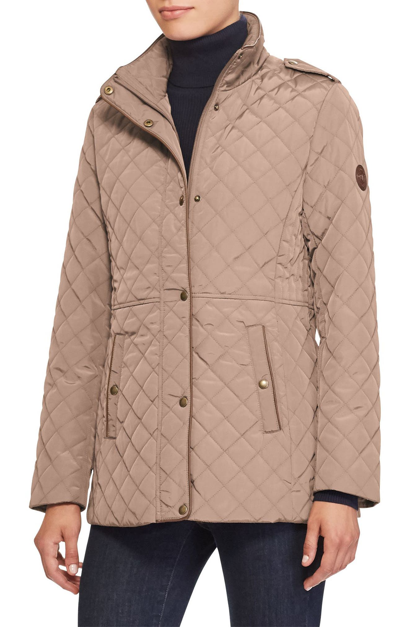 Quilted Field Jacket,                         Main,                         color, 246