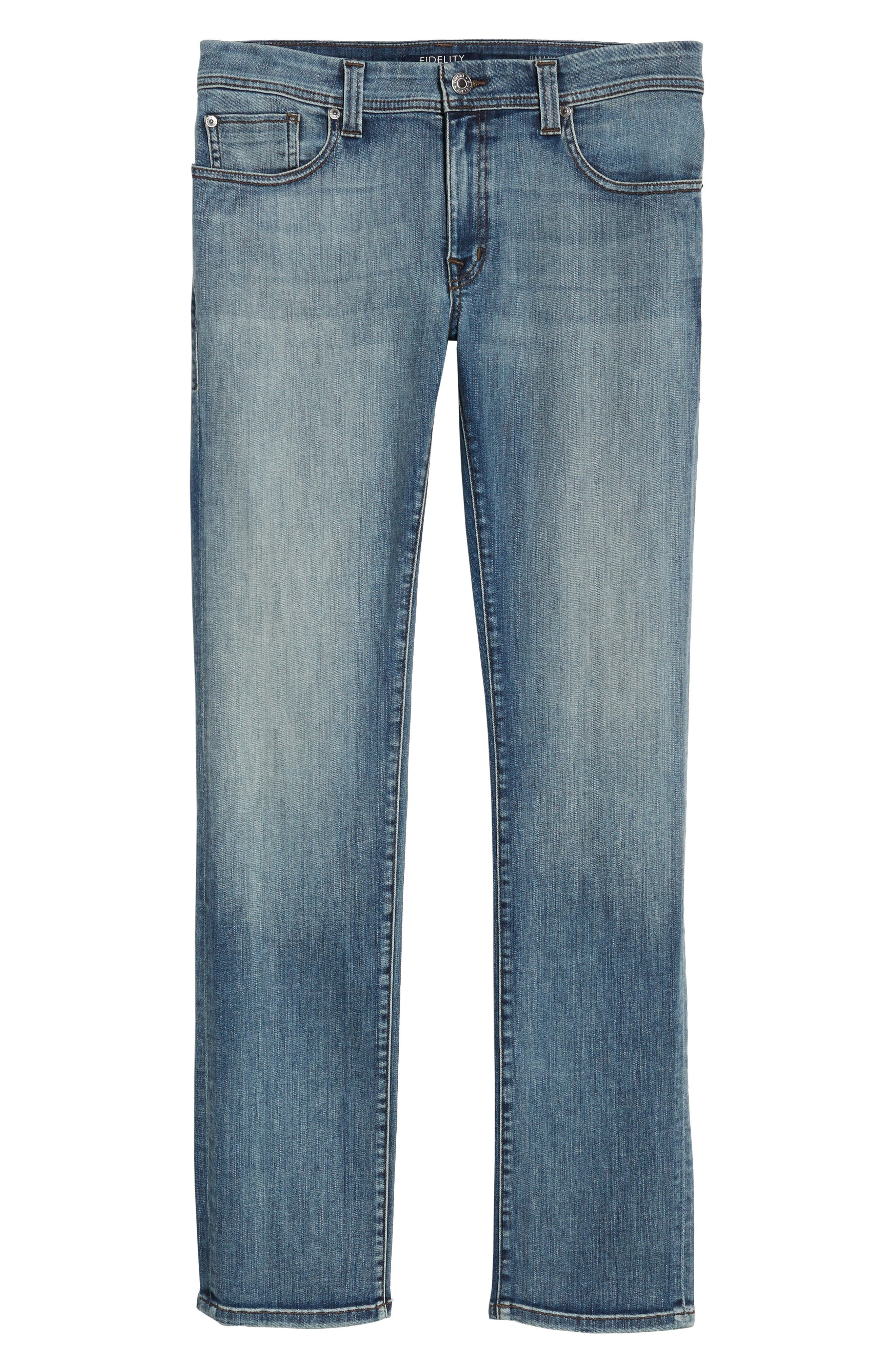 Jimmy Slim Fit Jeans,                             Alternate thumbnail 6, color,                             400