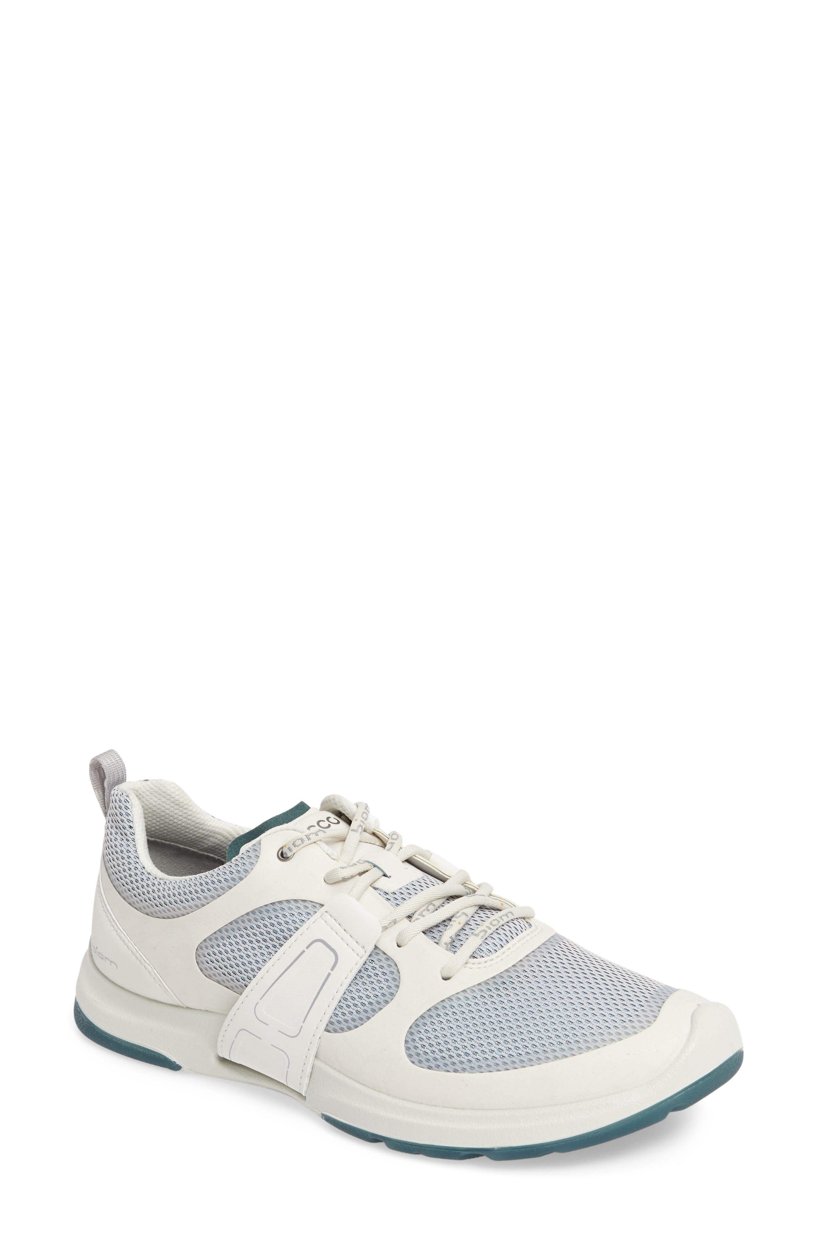 BIOM Amrap Sneaker,                         Main,                         color, SHADOW WHITE LEATHER