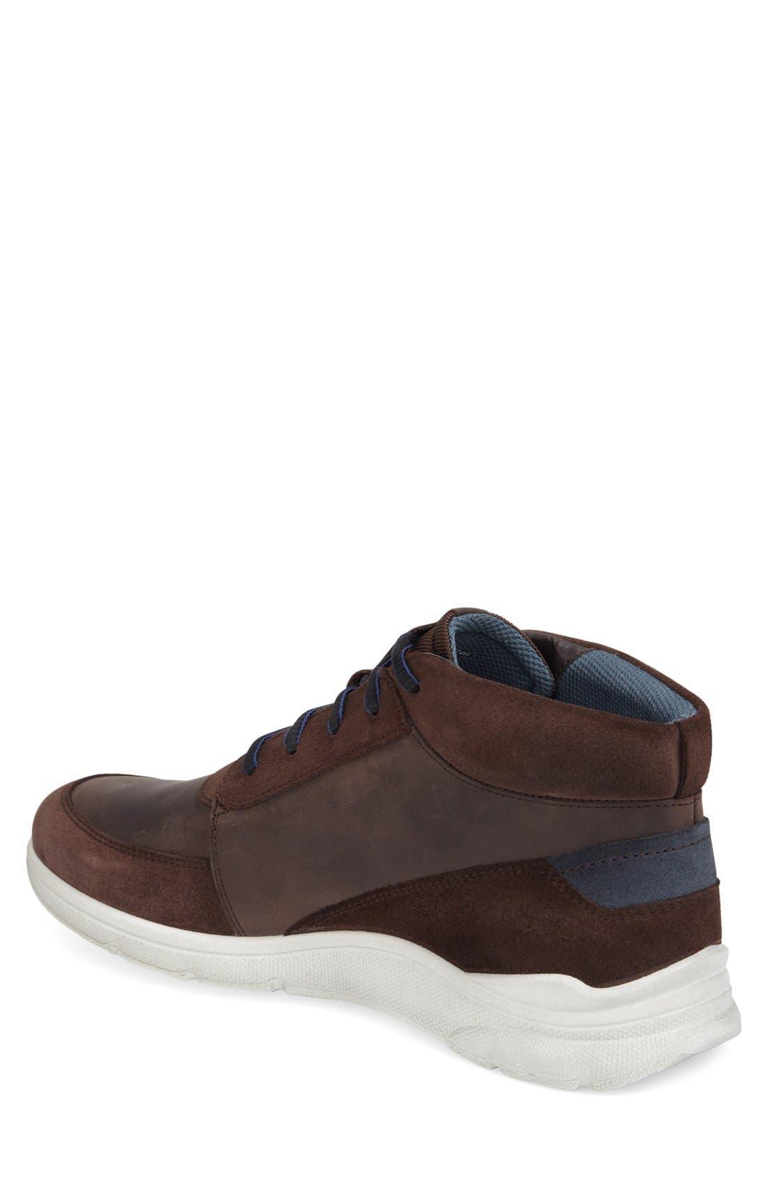 'Irondale Retro' High Top Sneaker,                             Alternate thumbnail 2, color,                             206