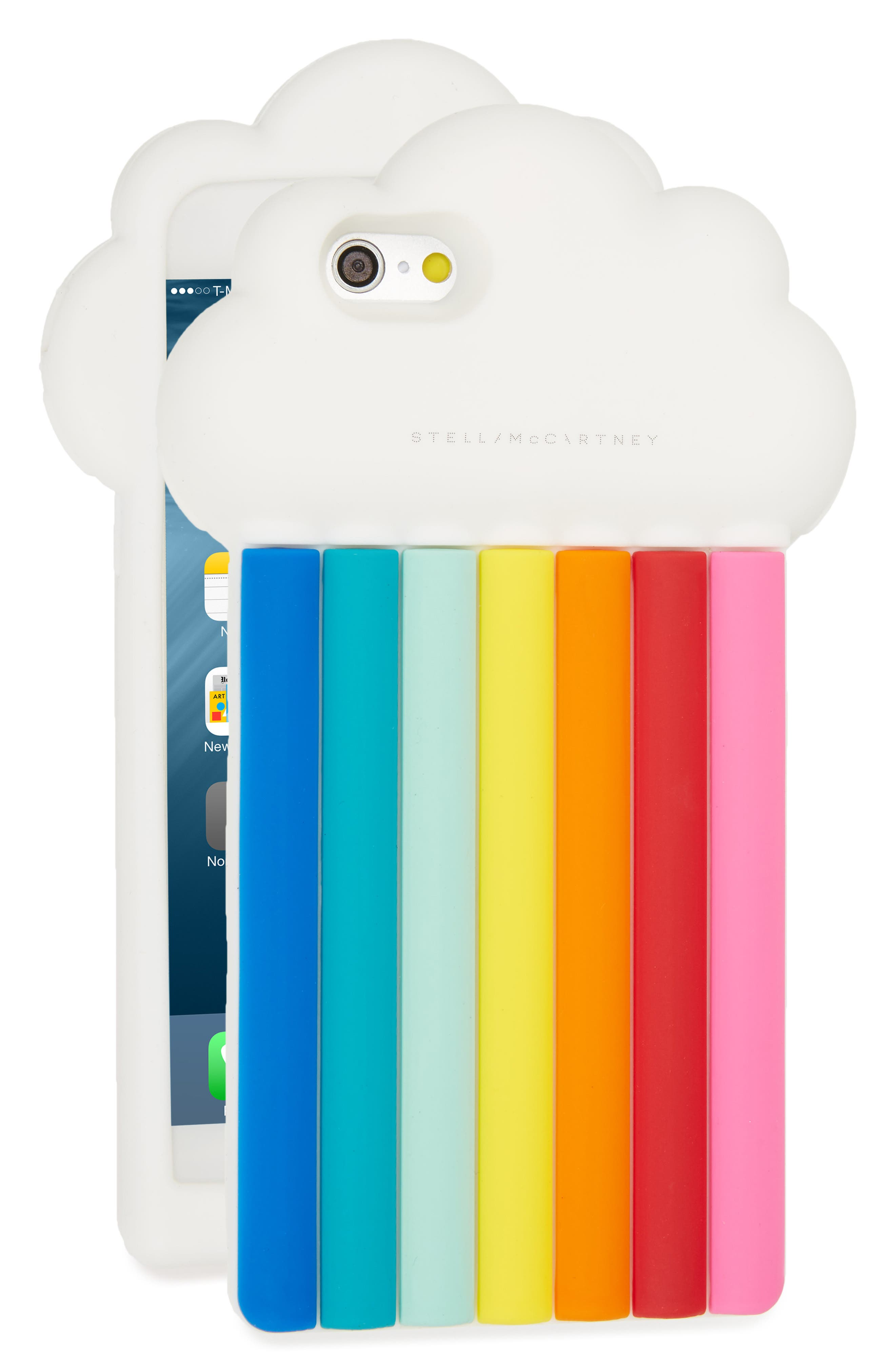 Rainbow iPhone 6/6s Case,                             Main thumbnail 1, color,                             122