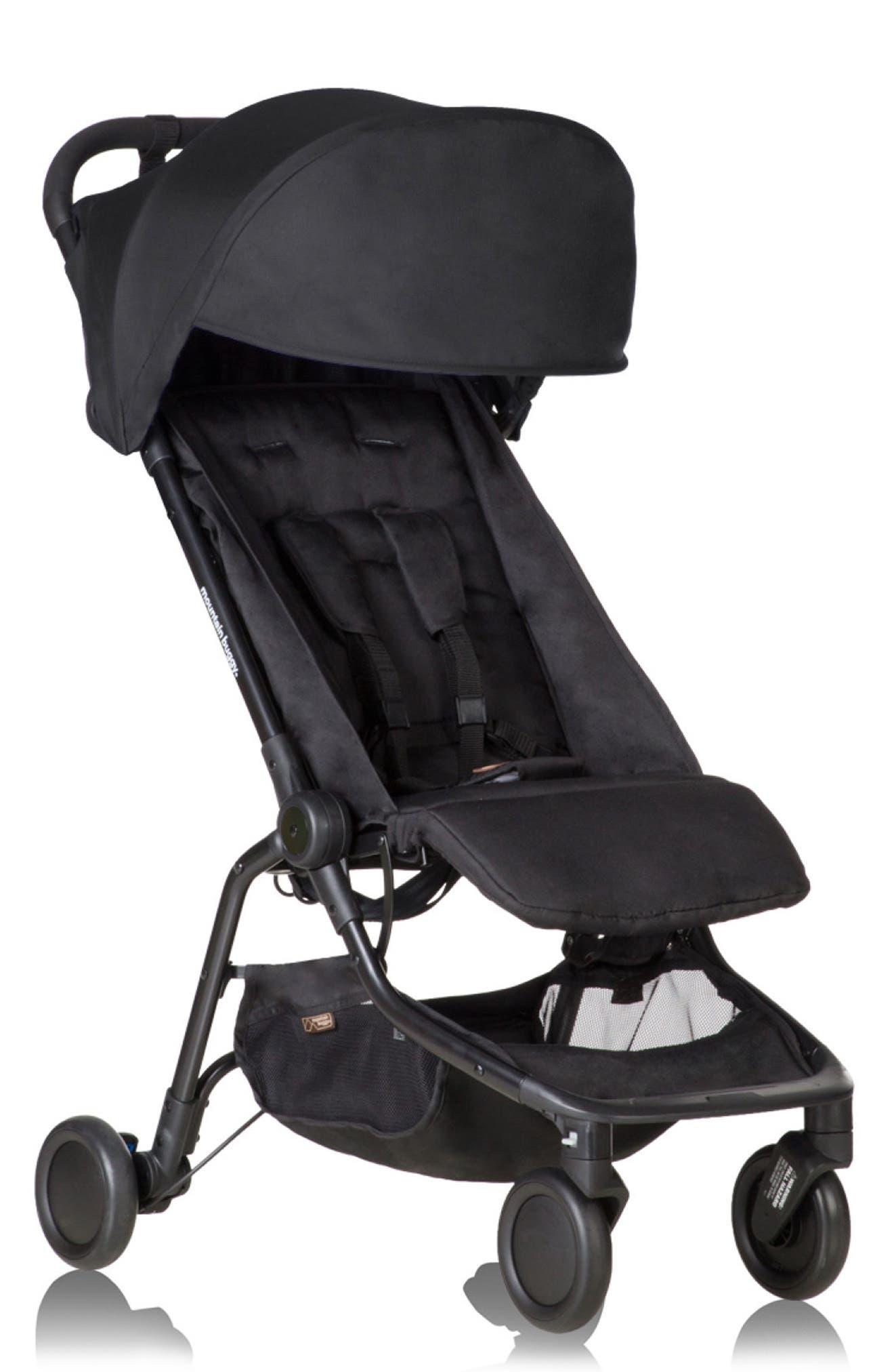 Nano Travel Stroller,                             Alternate thumbnail 2, color,                             BLACK